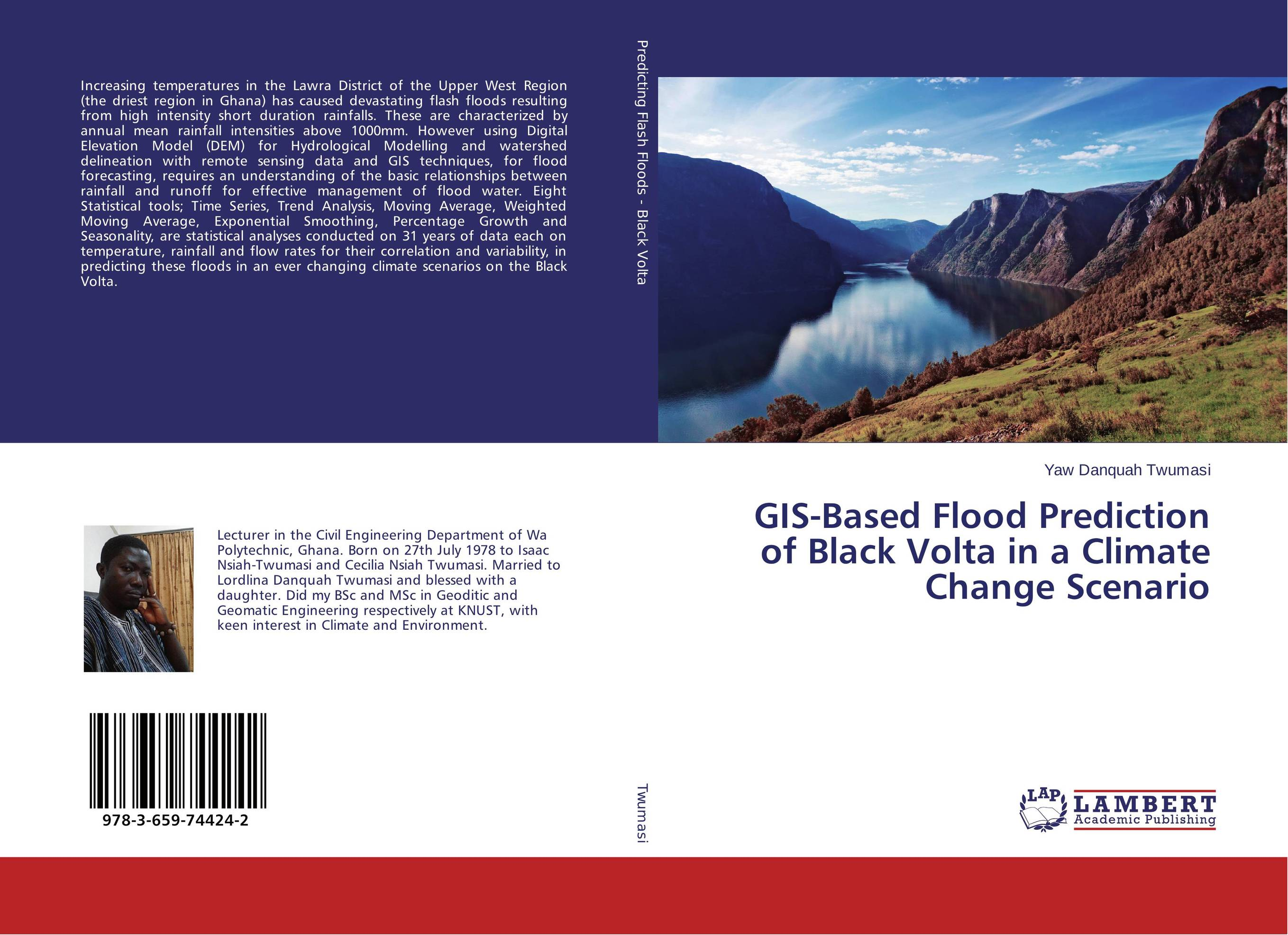 GIS-Based Flood Prediction of Black Volta in a Climate Change Scenario gis