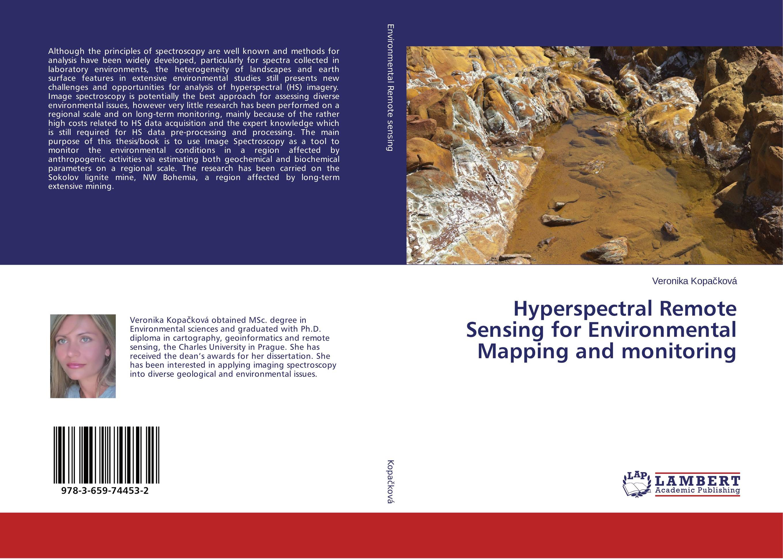 Hyperspectral Remote Sensing for Environmental Mapping and monitoring alon dadon imaging spectroscopy from space applied for geological mapping