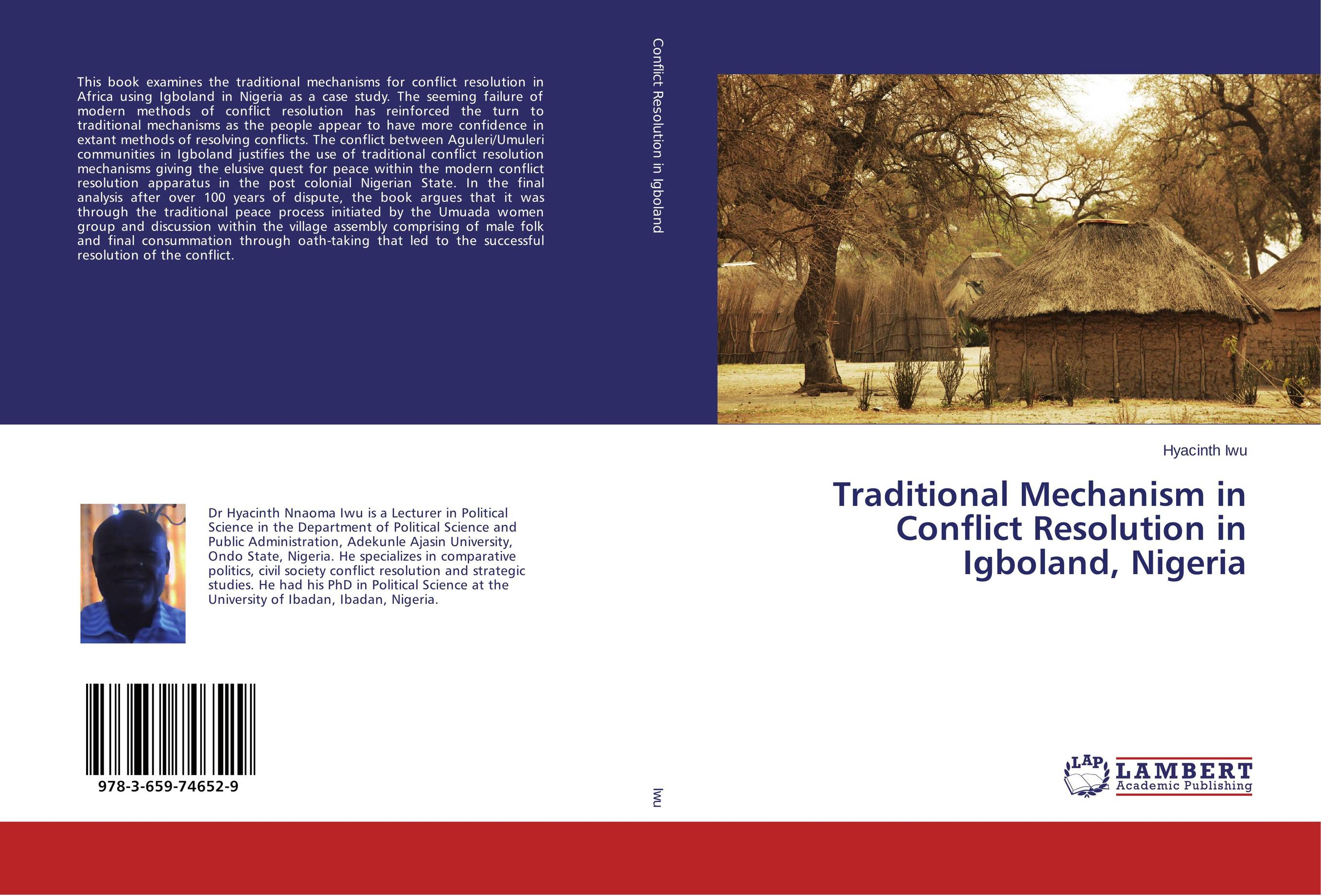 Traditional Mechanism in Conflict Resolution in Igboland, Nigeria conflict resolution in jammu