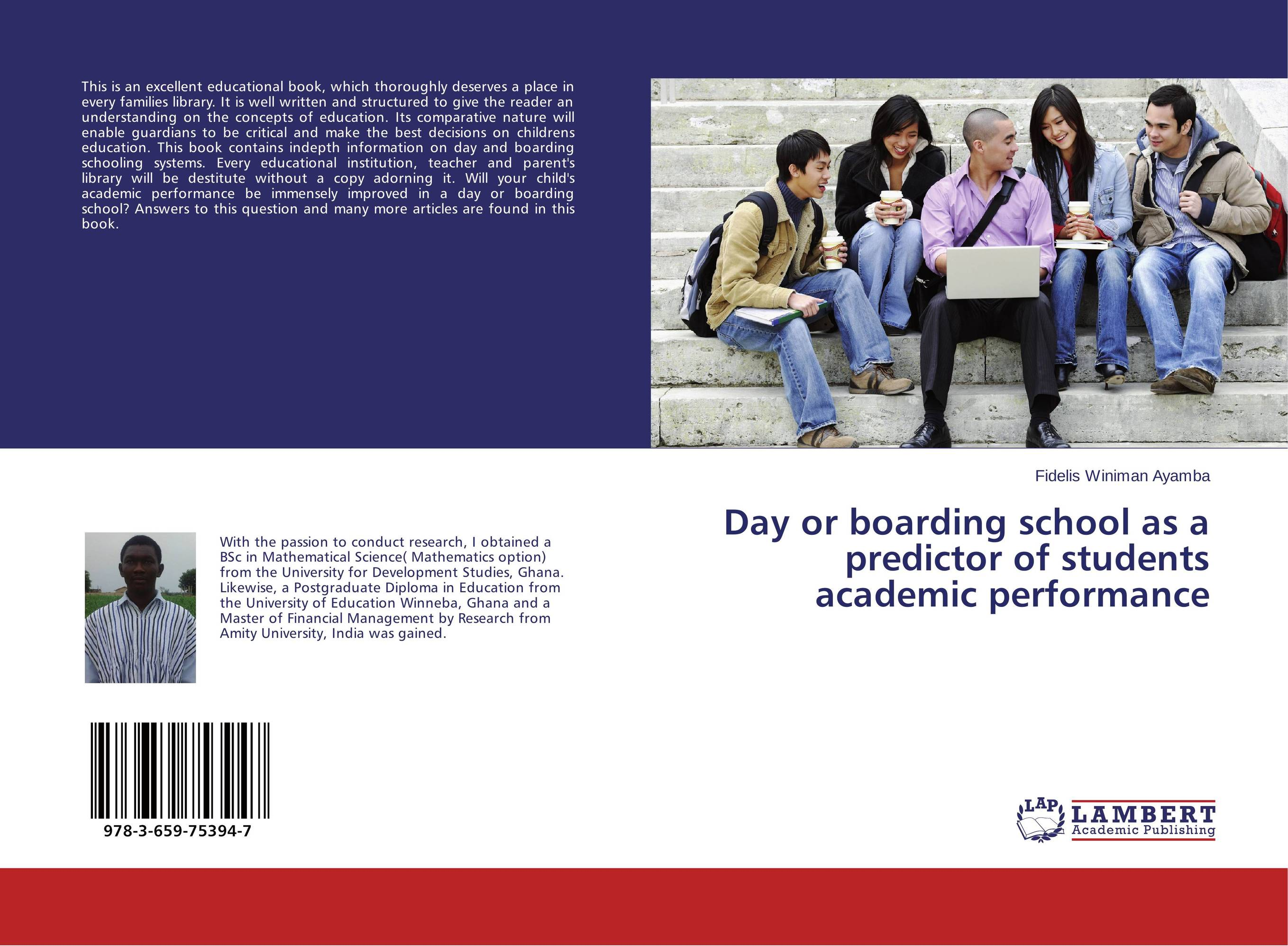 Day or boarding school as a predictor of students academic performance