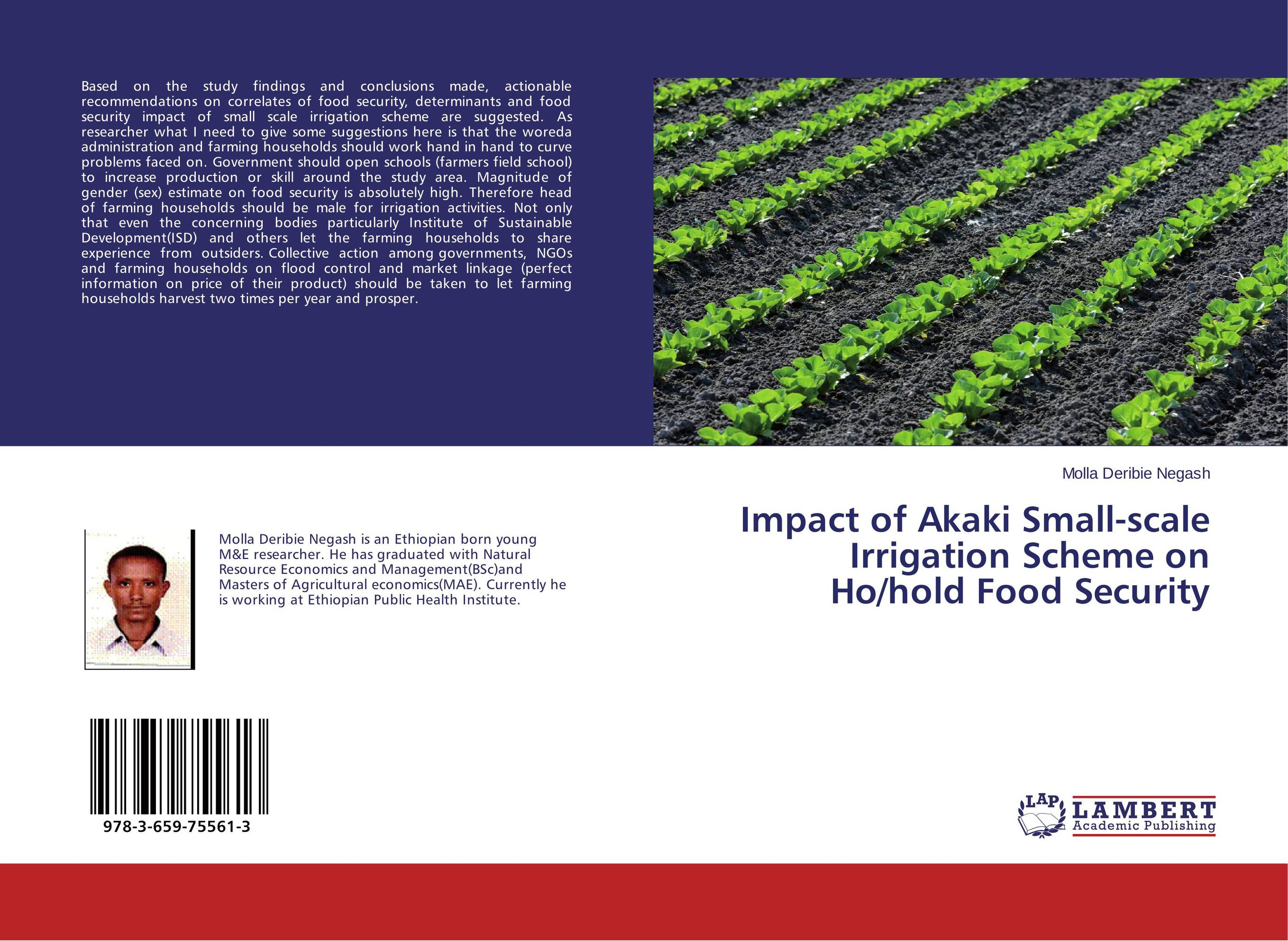 Impact of Akaki Small-scale Irrigation Scheme on Ho/hold Food Security