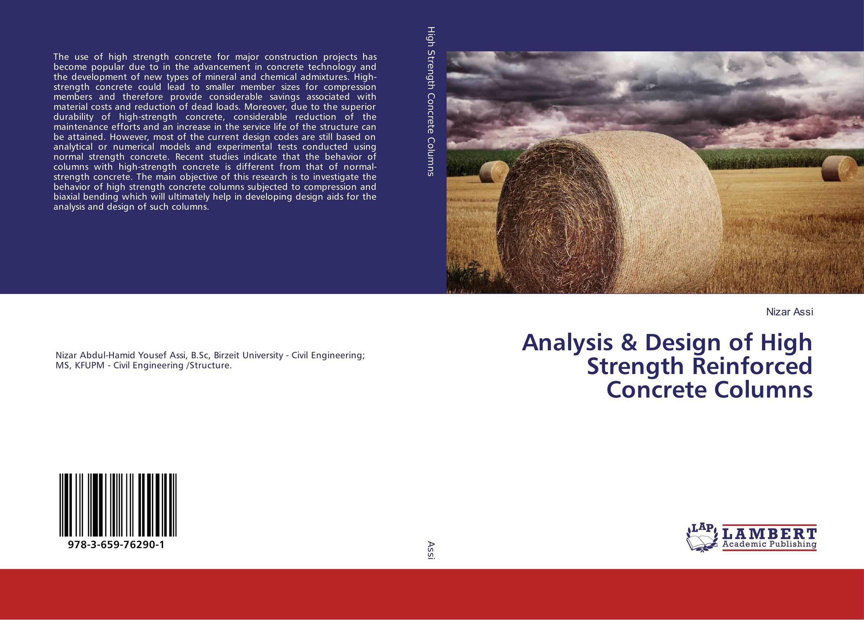 Analysis & Design of High Strength Reinforced Concrete Columns development of open tubular molecular imprinted columns