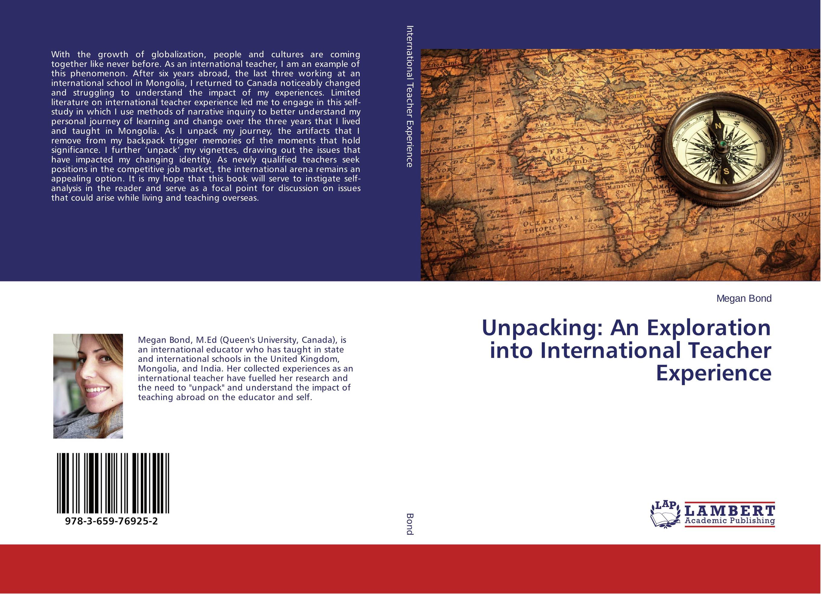 Unpacking: An Exploration into International Teacher Experience antonaros s the teacher s basic tools the teacher as manager