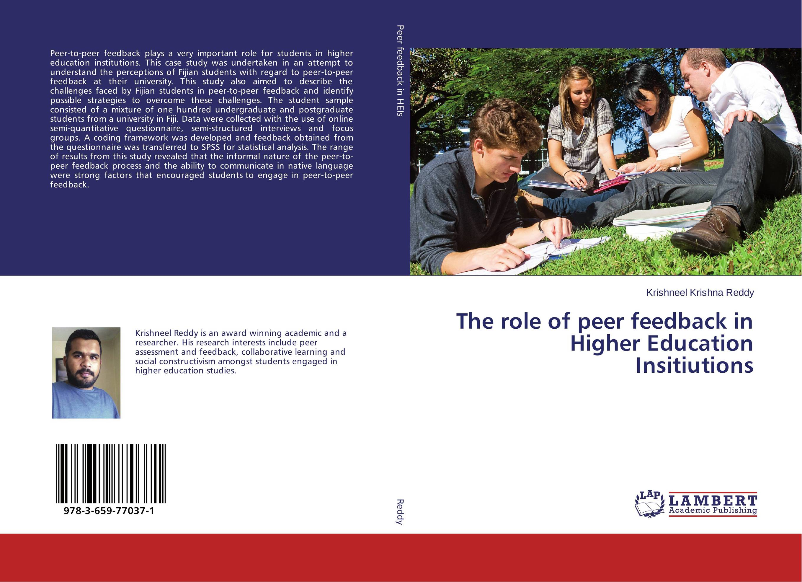The role of peer feedback in Higher Education Institutions in Fiji the role of evaluation as a mechanism for advancing principal practice