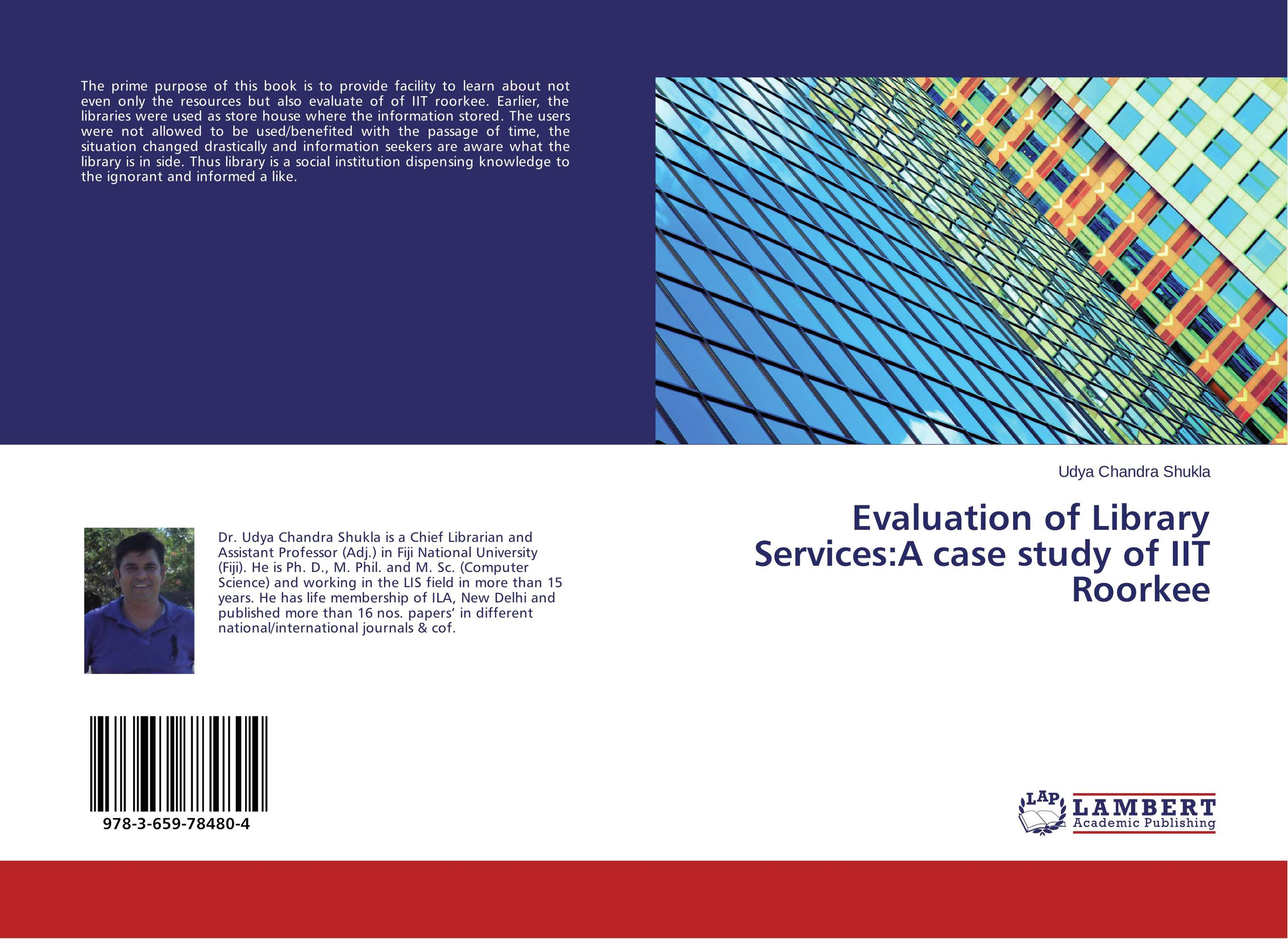 Evaluation of Library Services:A case study of IIT Roorkee evaluation of the impact of a mega sporting event