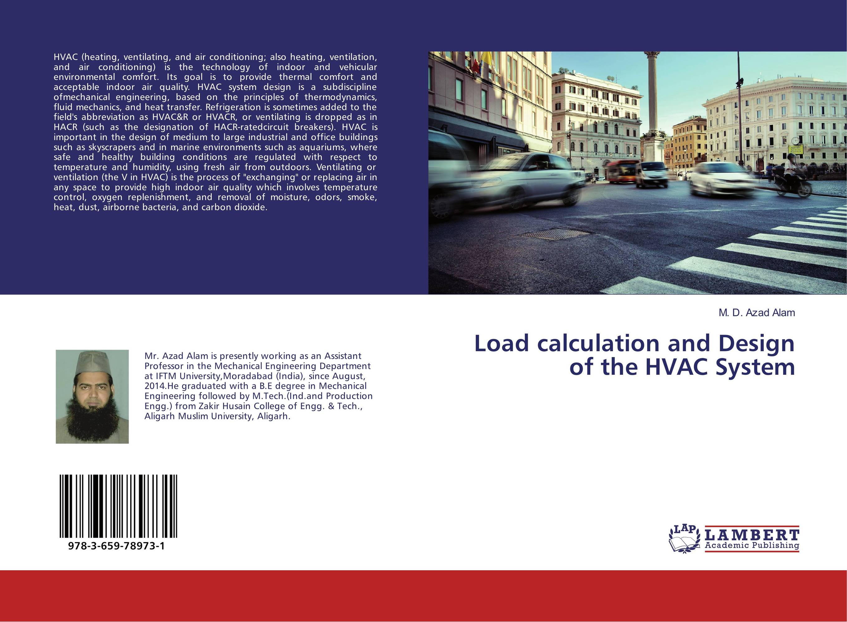 Load calculation and Design of the HVAC System