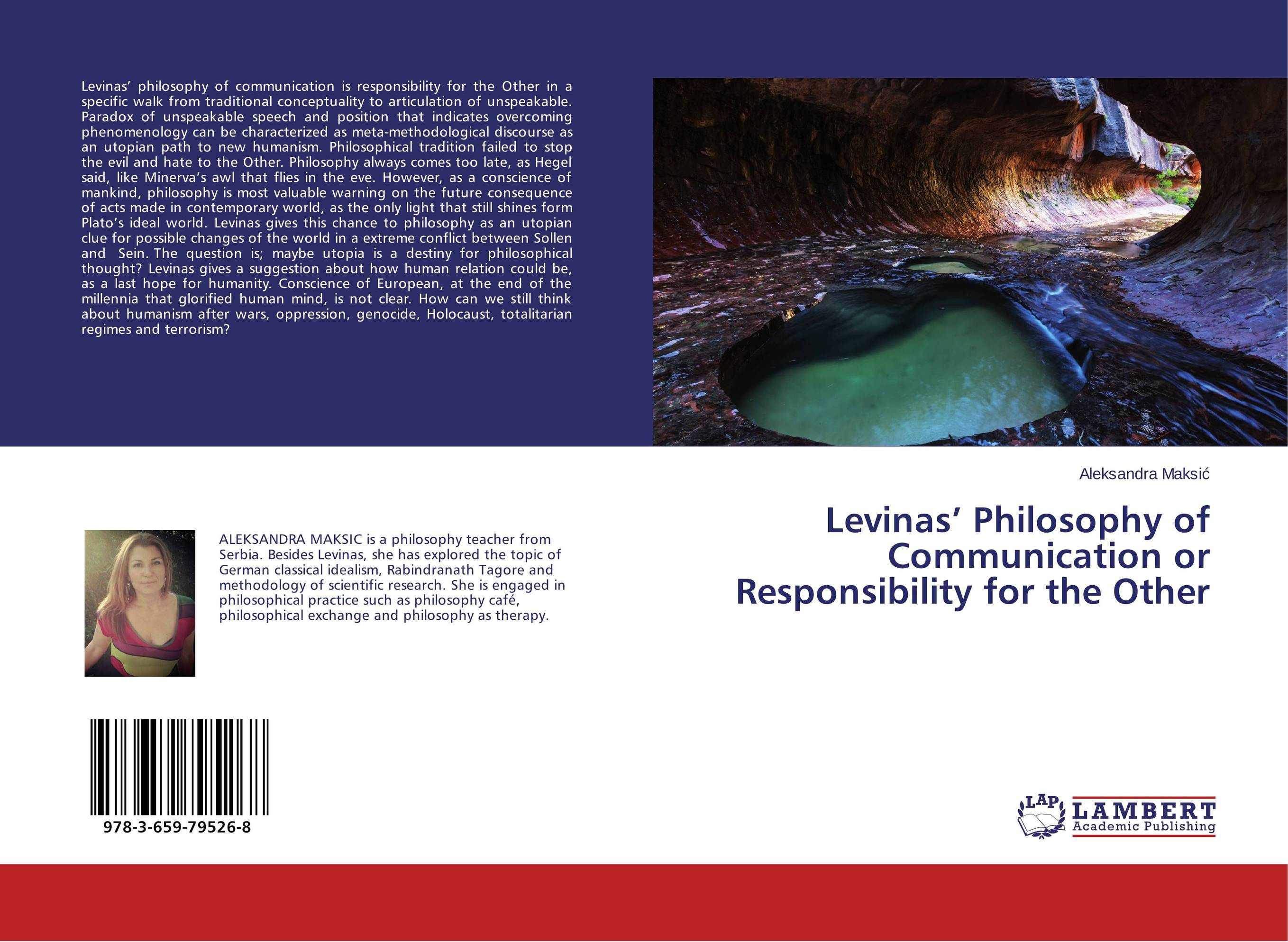 Levinas' Philosophy of Communication or Responsibility for the Other baynes after philosophy – end or transformation cloth