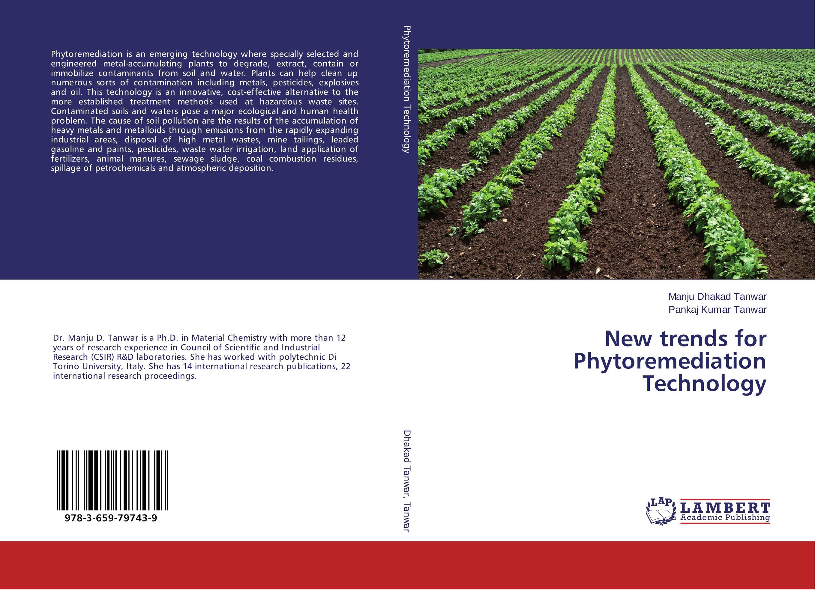New trends for Phytoremediation Technology цена и фото