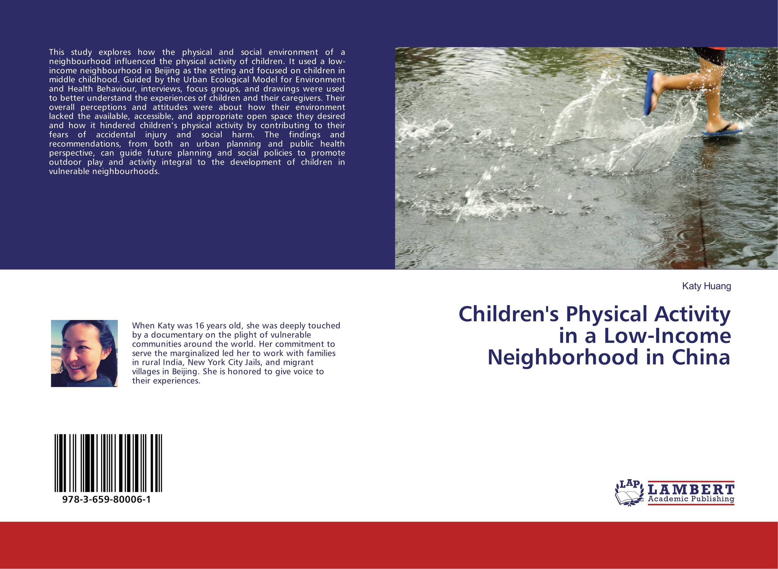 Children's Physical Activity in a Low-Income Neighborhood in China psychiatric and physical morbidity in an urban geriatric population