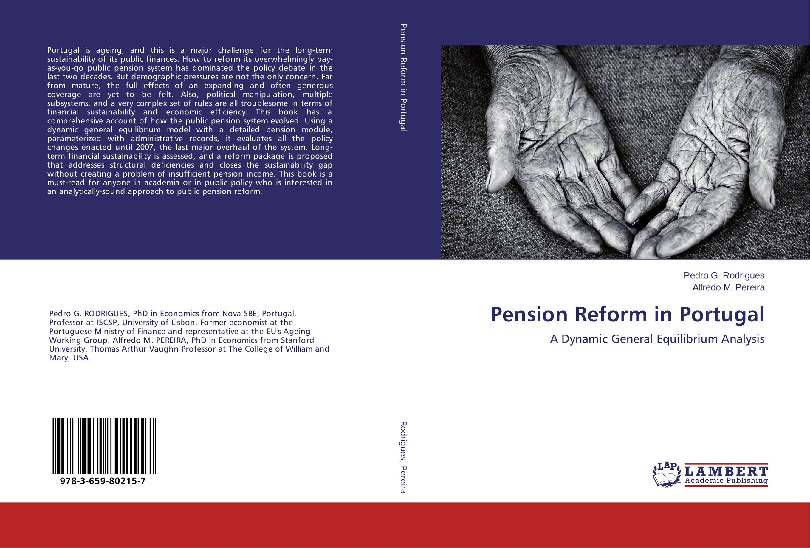 Pension Reform in Portugal aging population and pension system reform in china