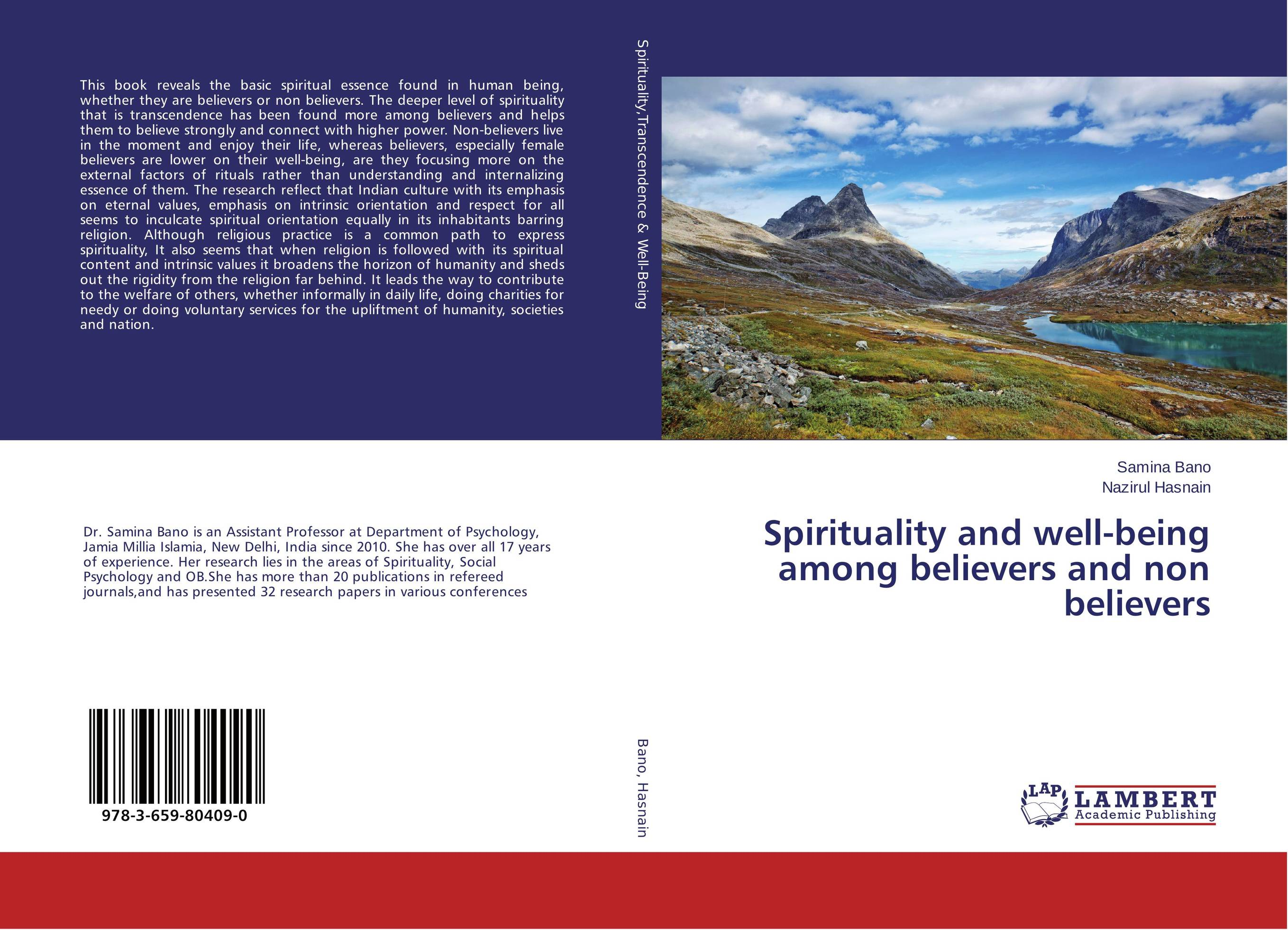 Spirituality and well-being among believers and non believers marvin tolentino and angelo dullas subjective well being and farming experiences of filipino children