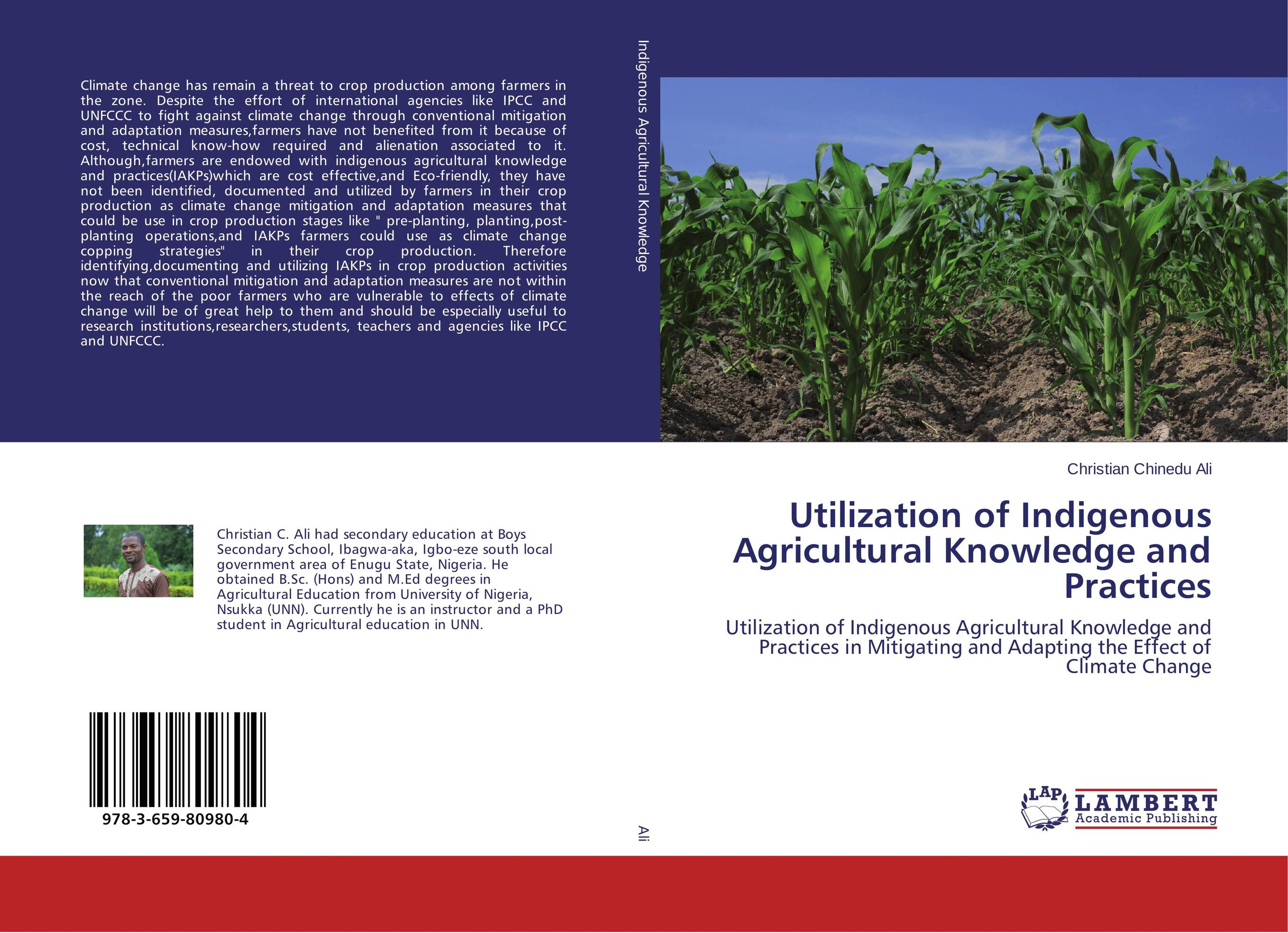 Utilization of Indigenous Agricultural Knowledge and Practices cold storage accessibility and agricultural production by smallholders