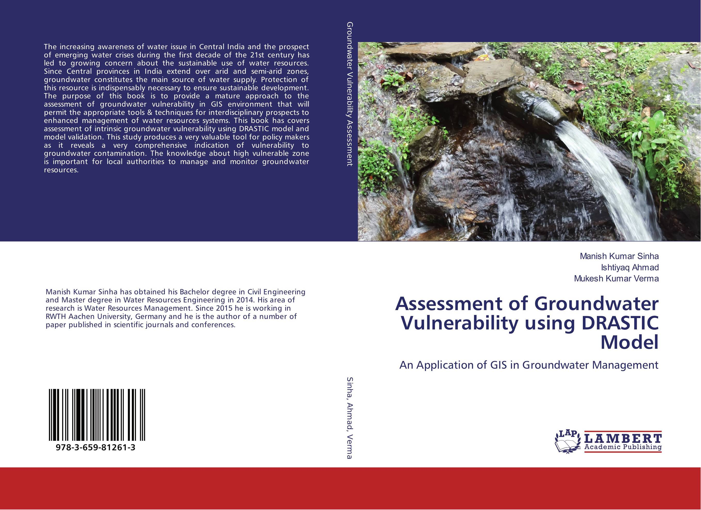 Assessment of Groundwater Vulnerability using DRASTIC Model survival of local knowledge about management of natural resources