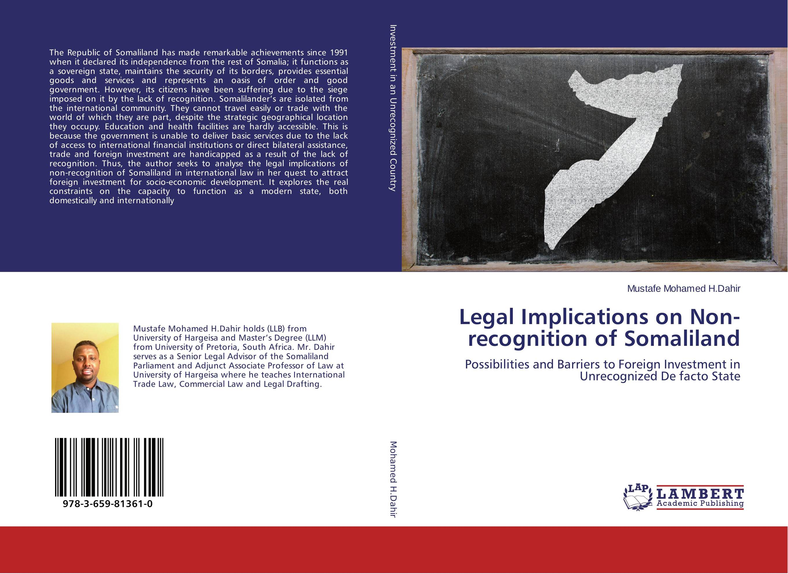 Legal Implications on Non-recognition of Somaliland seeing things as they are