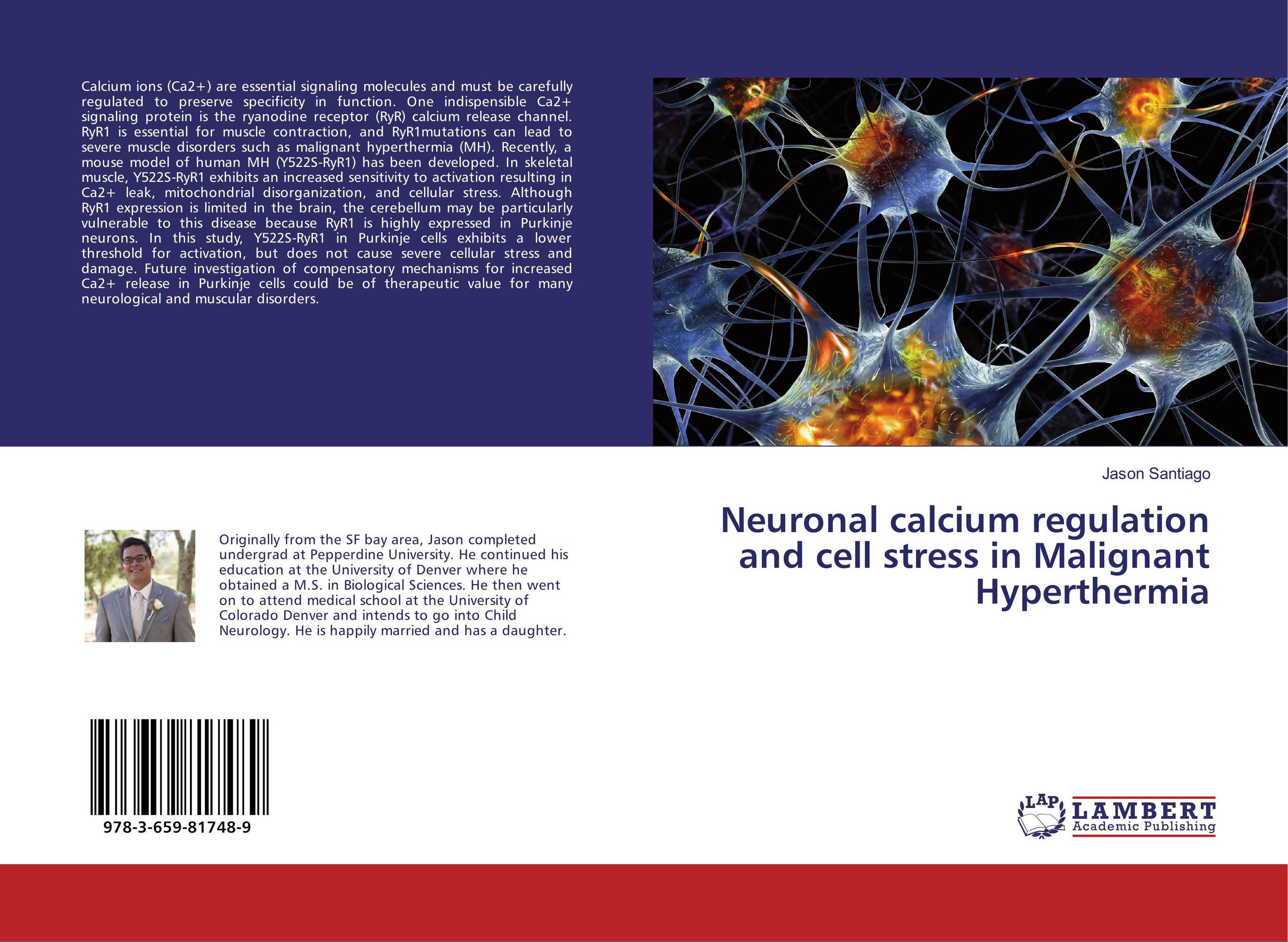 Neuronal calcium regulation and cell stress in Malignant Hyperthermia psychiatric disorders in postpartum period