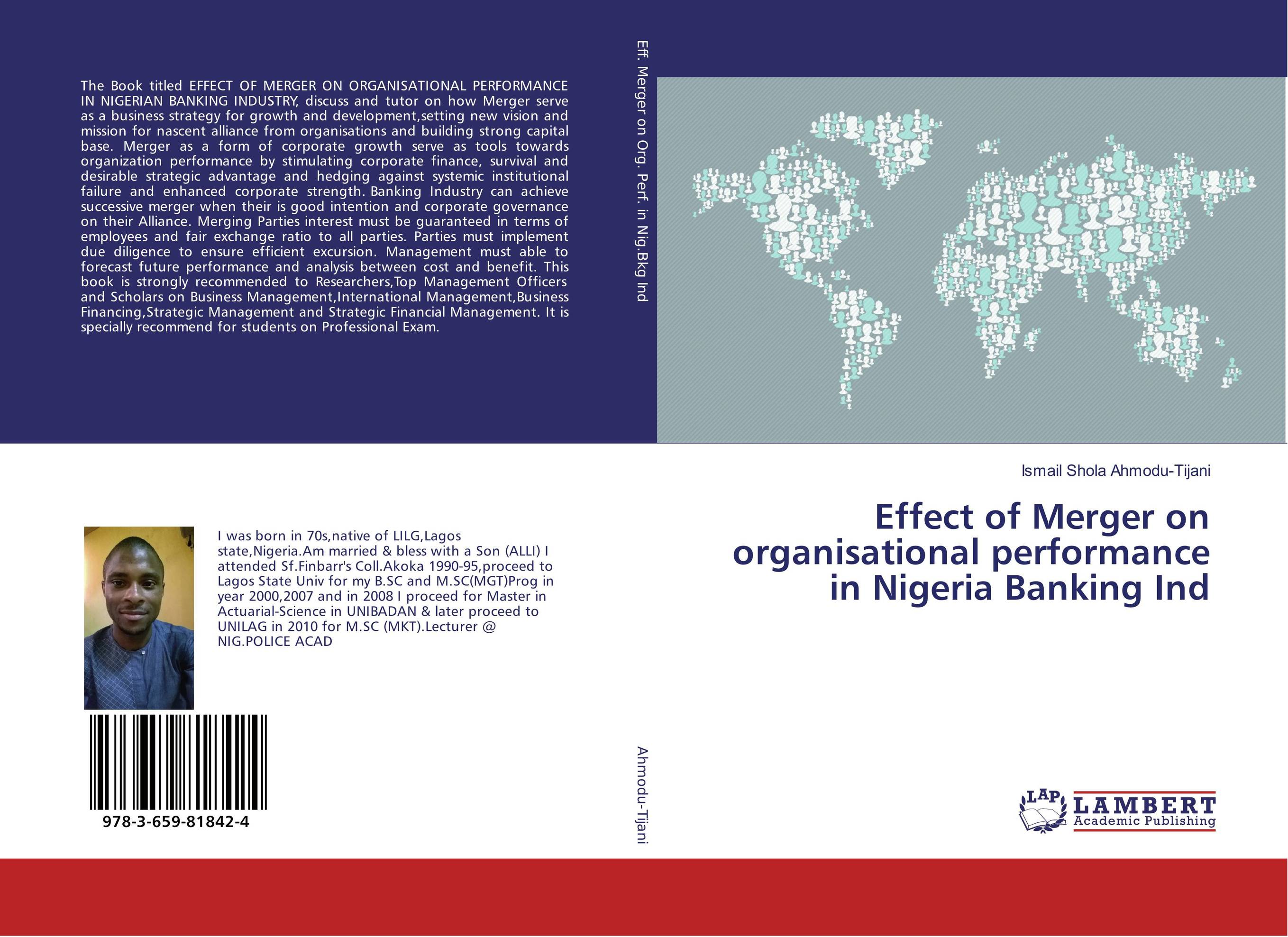 Effect of Merger on organisational performance in Nigeria Banking Ind corporate performance management