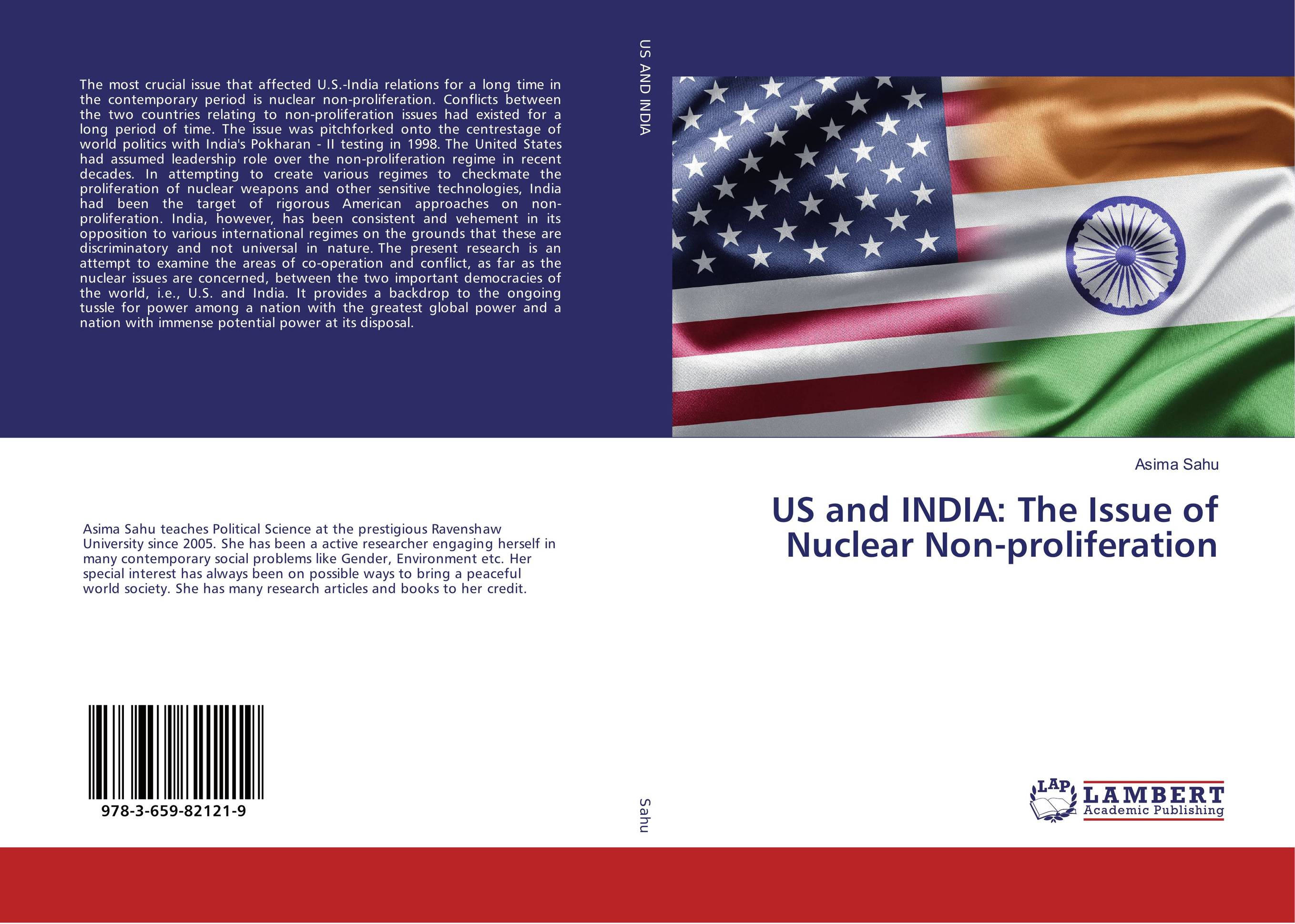 US and INDIA: The Issue of Nuclear Non-proliferation lidiya strautman introduction to the world of nuclear physics