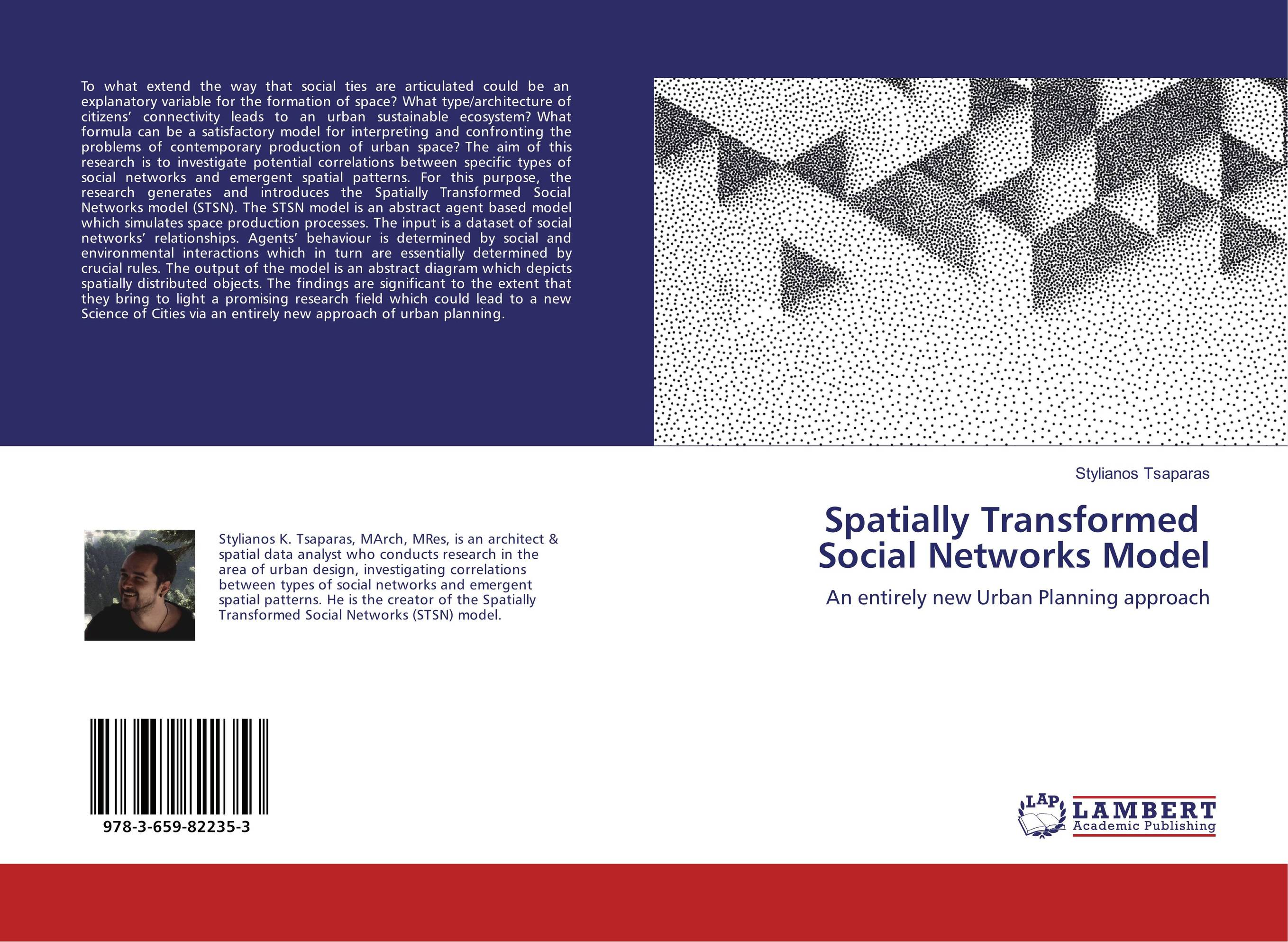 Spatially Transformed Social Networks Model