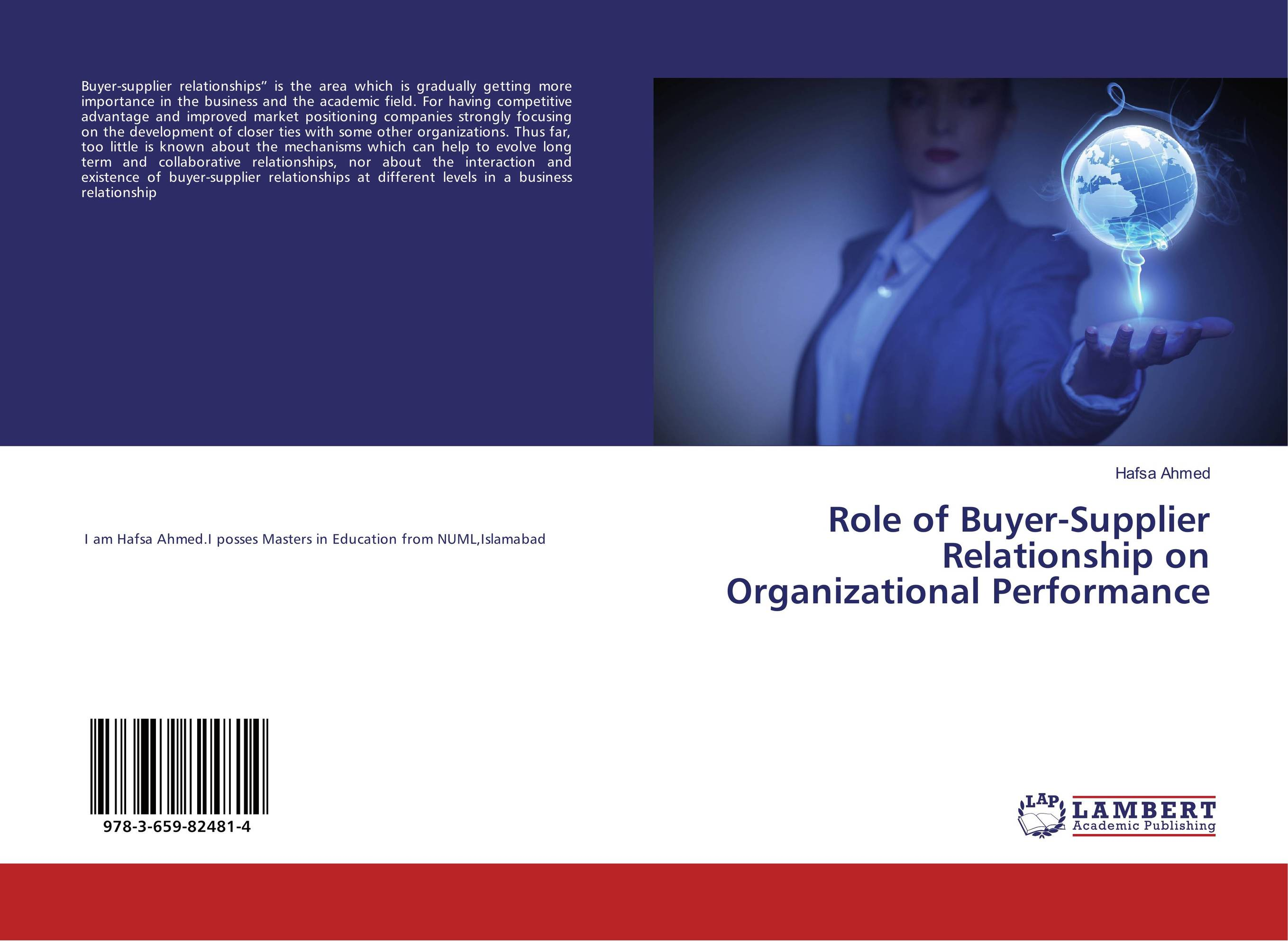 Role of Buyer-Supplier Relationship on Organizational Performance
