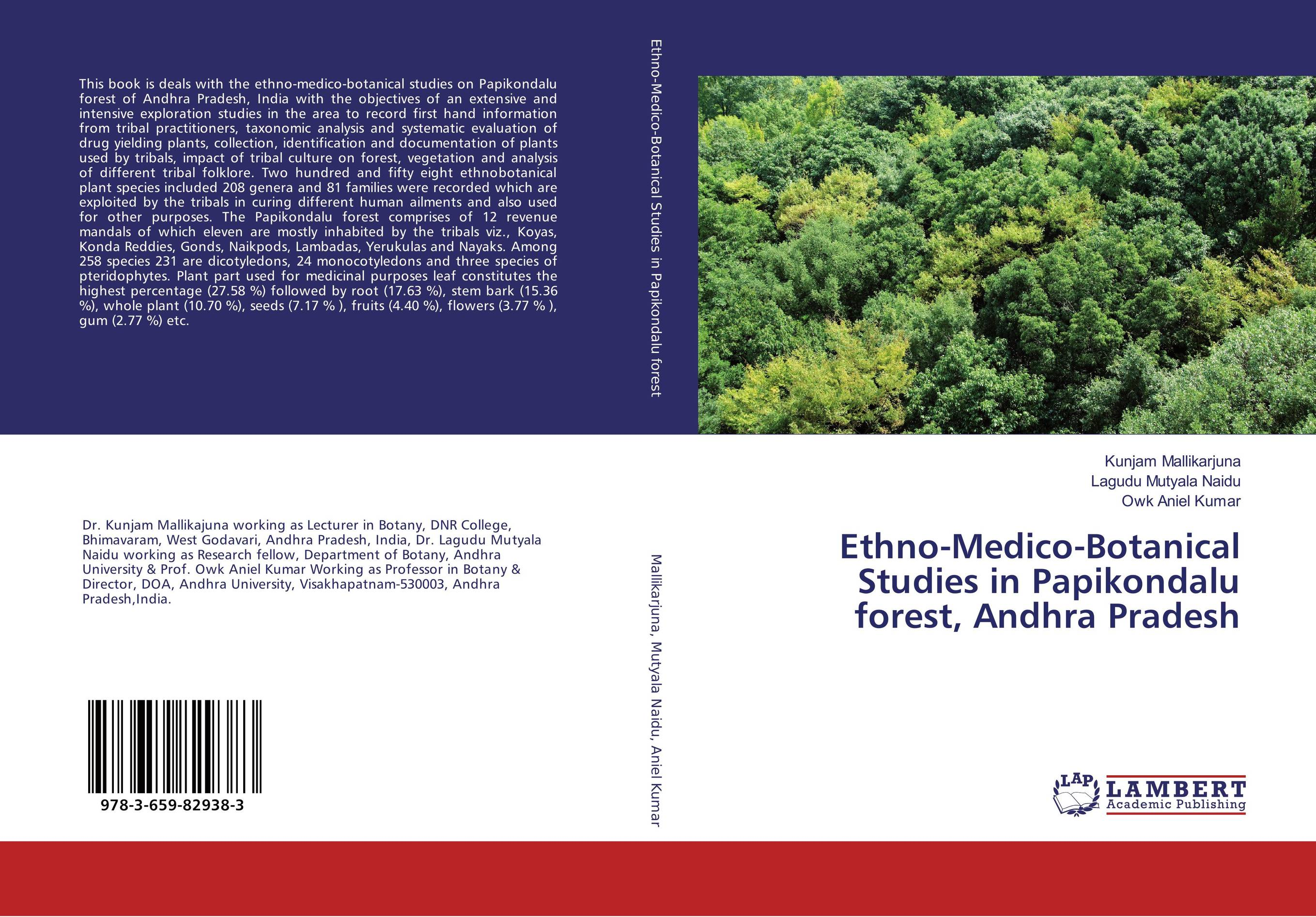 Ethno-Medico-Botanical Studies in Papikondalu forest, Andhra Pradesh anatomical studies on species of subfamily stachyoideae lamiaceae