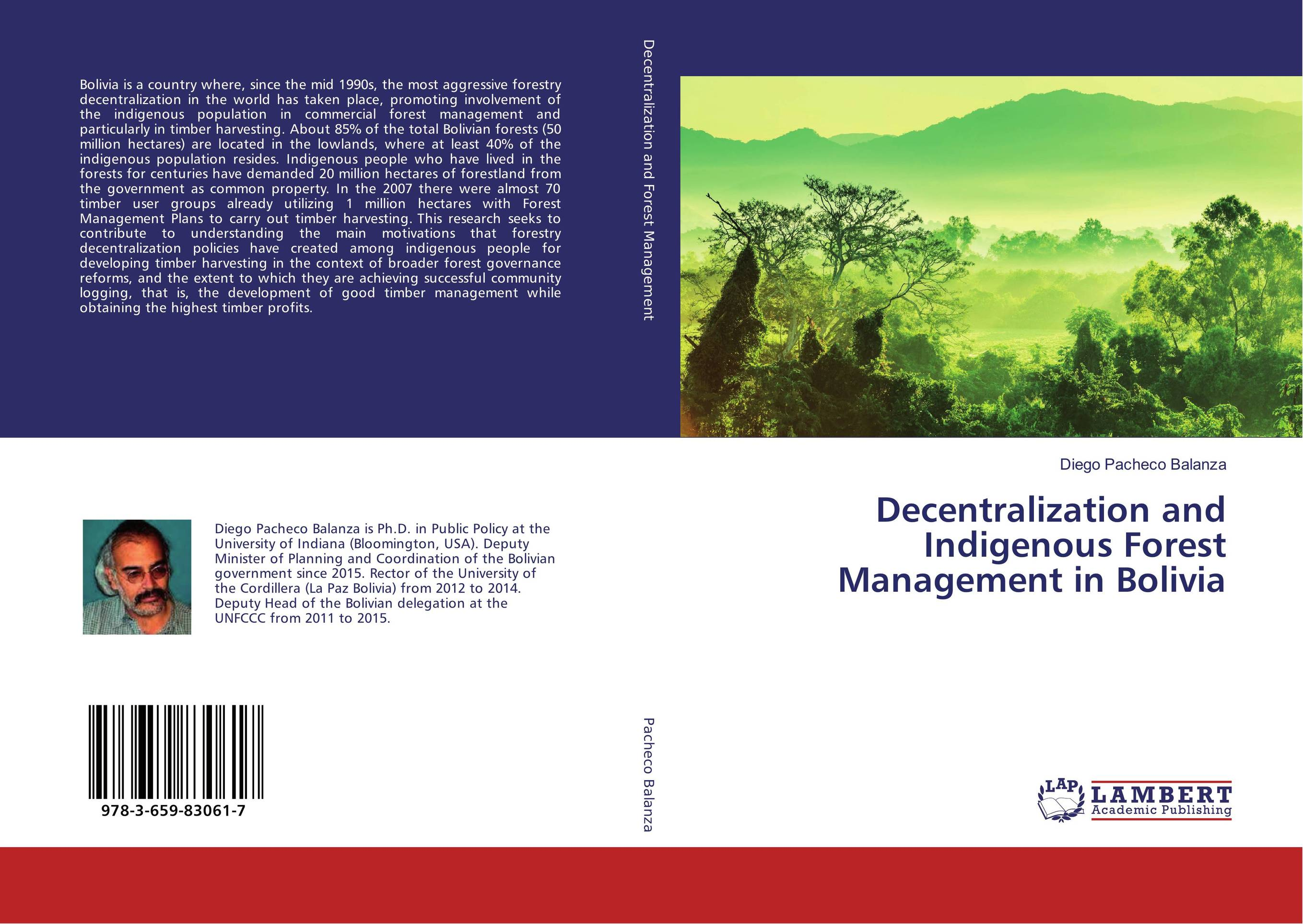 Decentralization and Indigenous Forest Management in Bolivia ahmed mohammed non timber forest products and food security