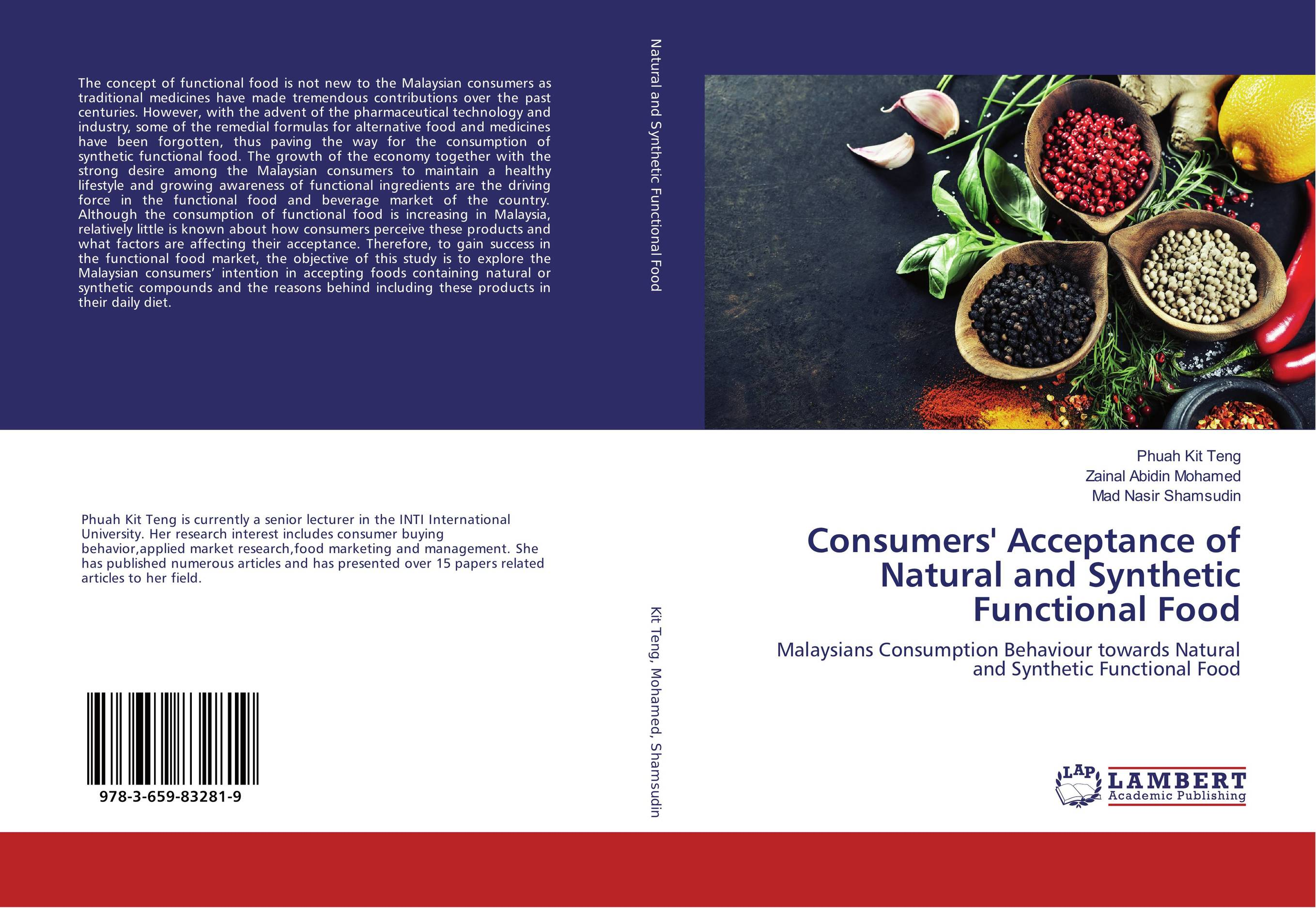 Consumers' Acceptance of Natural and Synthetic Functional Food