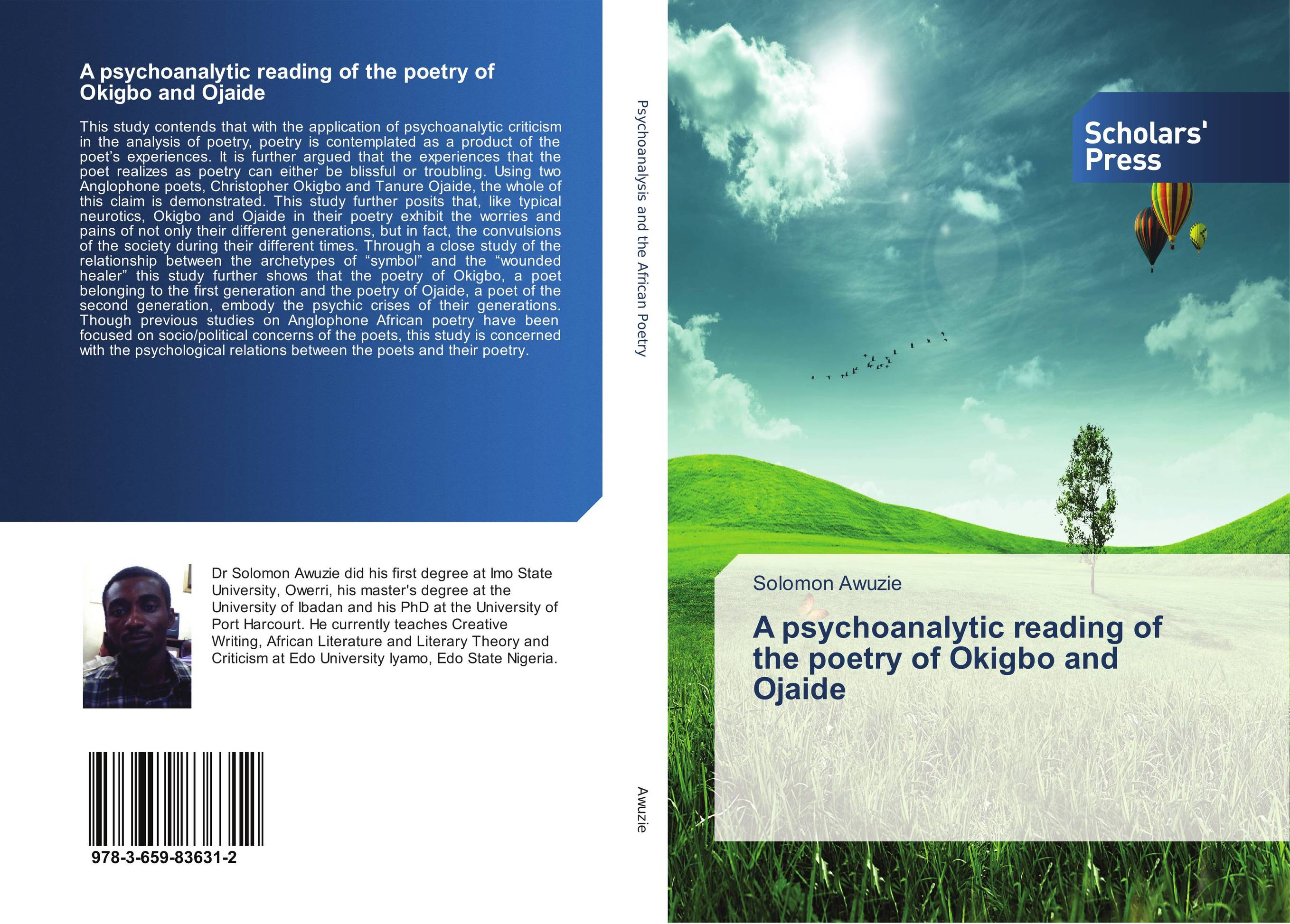 A psychoanalytic reading of the poetry of Okigbo and Ojaide the poetry of greek tragedy