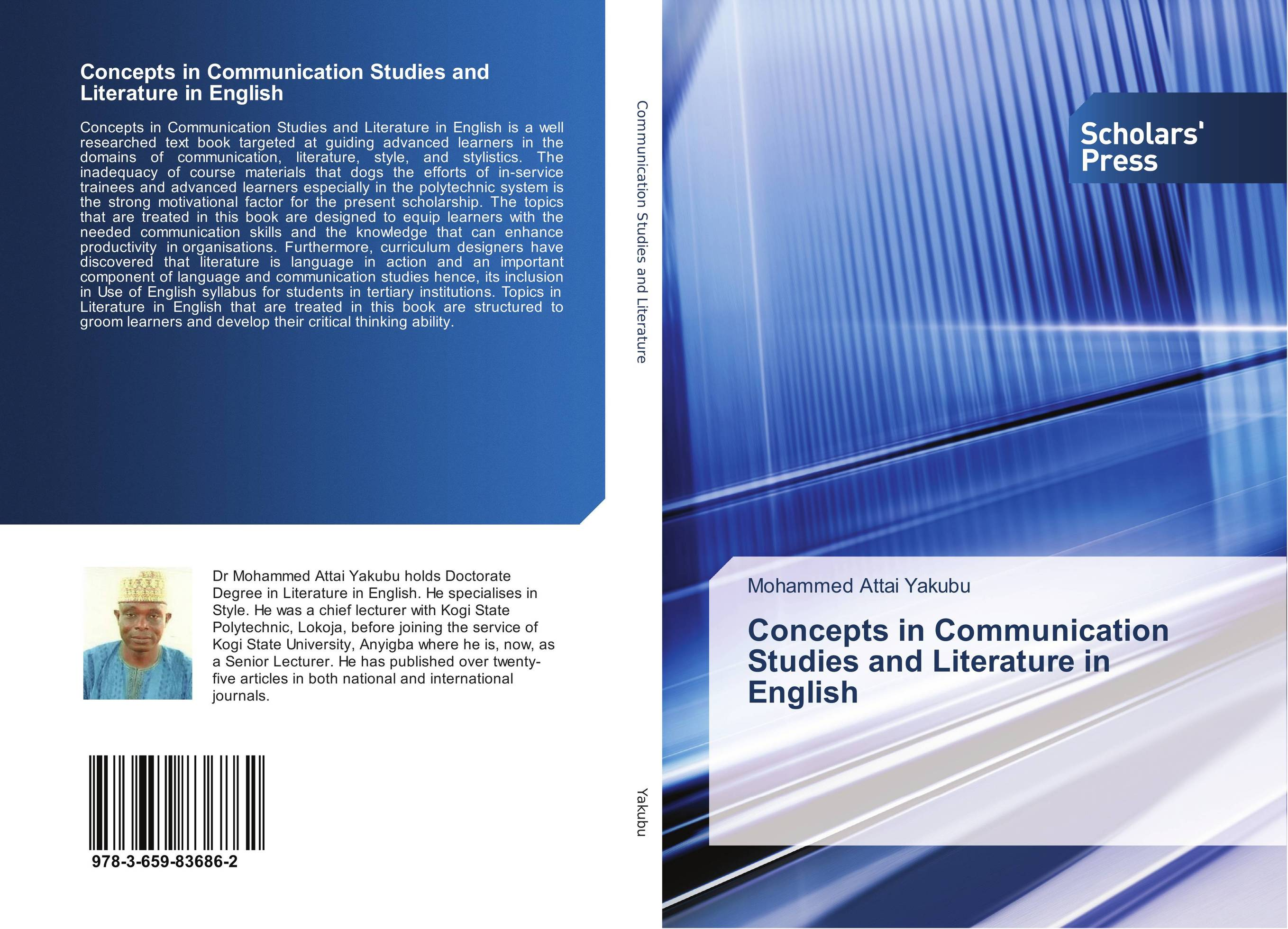Concepts in Communication Studies and Literature in English studies in literature