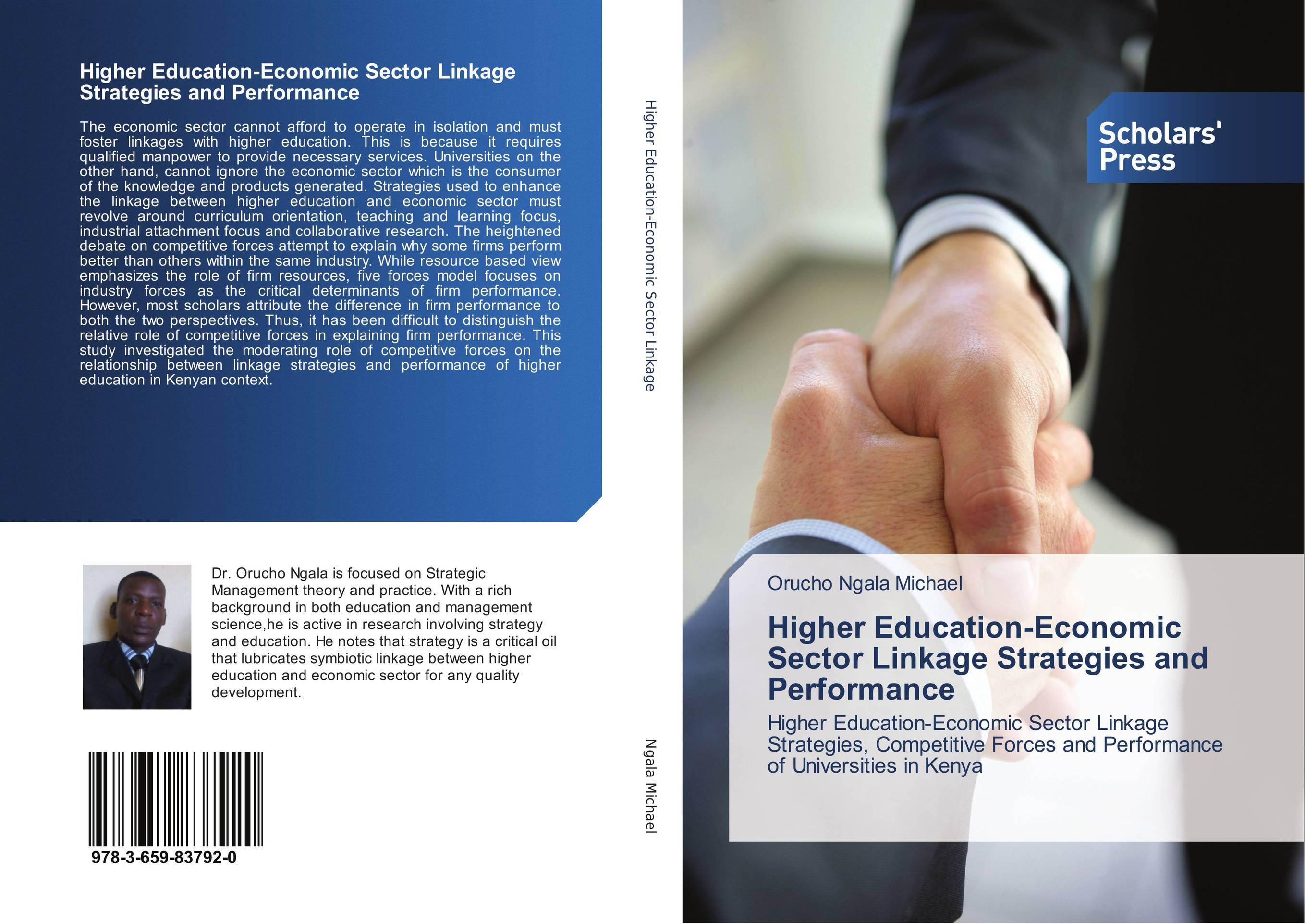 Higher Education-Economic Sector Linkage Strategies and Performance conflict management strategies used in higher education institutes