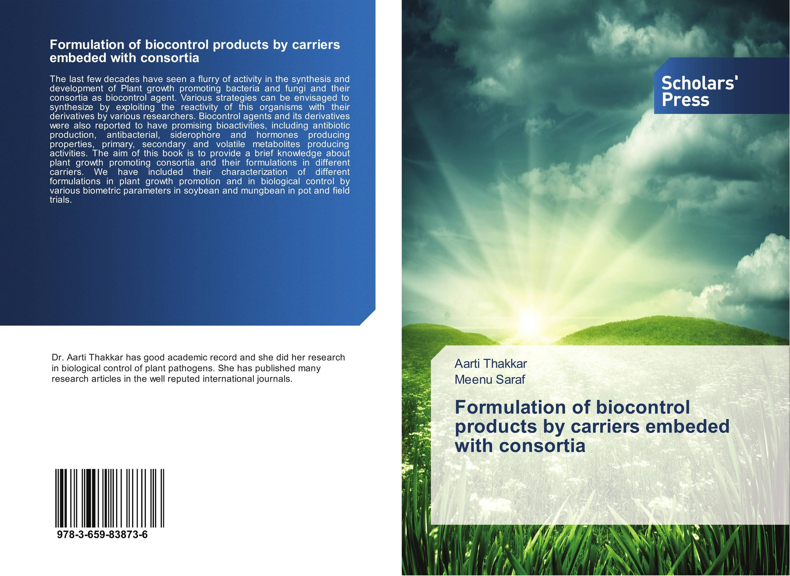 Formulation of biocontrol products by carriers embeded with consortia arcade ndoricimpa inflation output growth and their uncertainties in south africa empirical evidence from an asymmetric multivariate garch m model