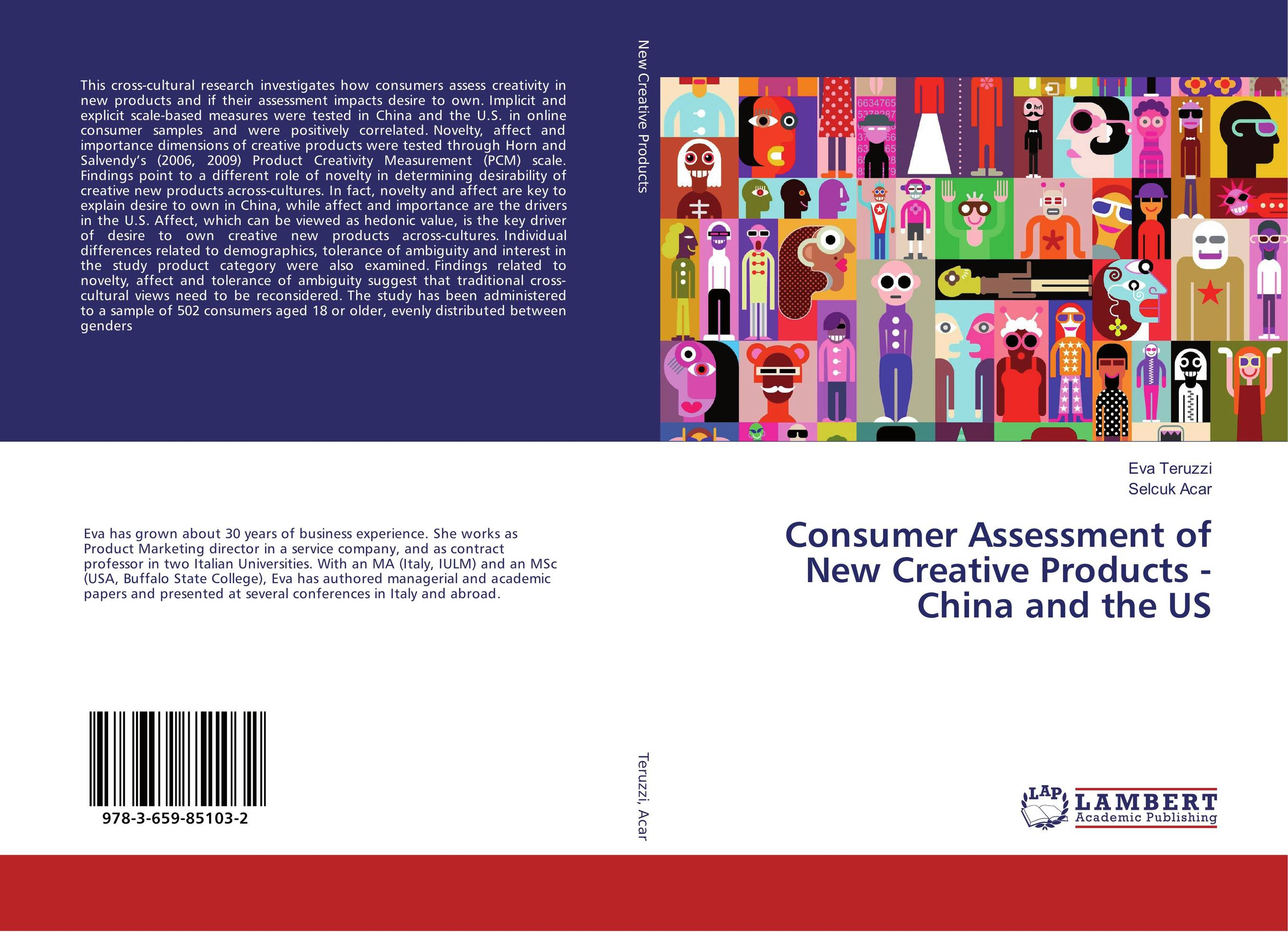 Consumer Assessment of New Creative Products - China and the US