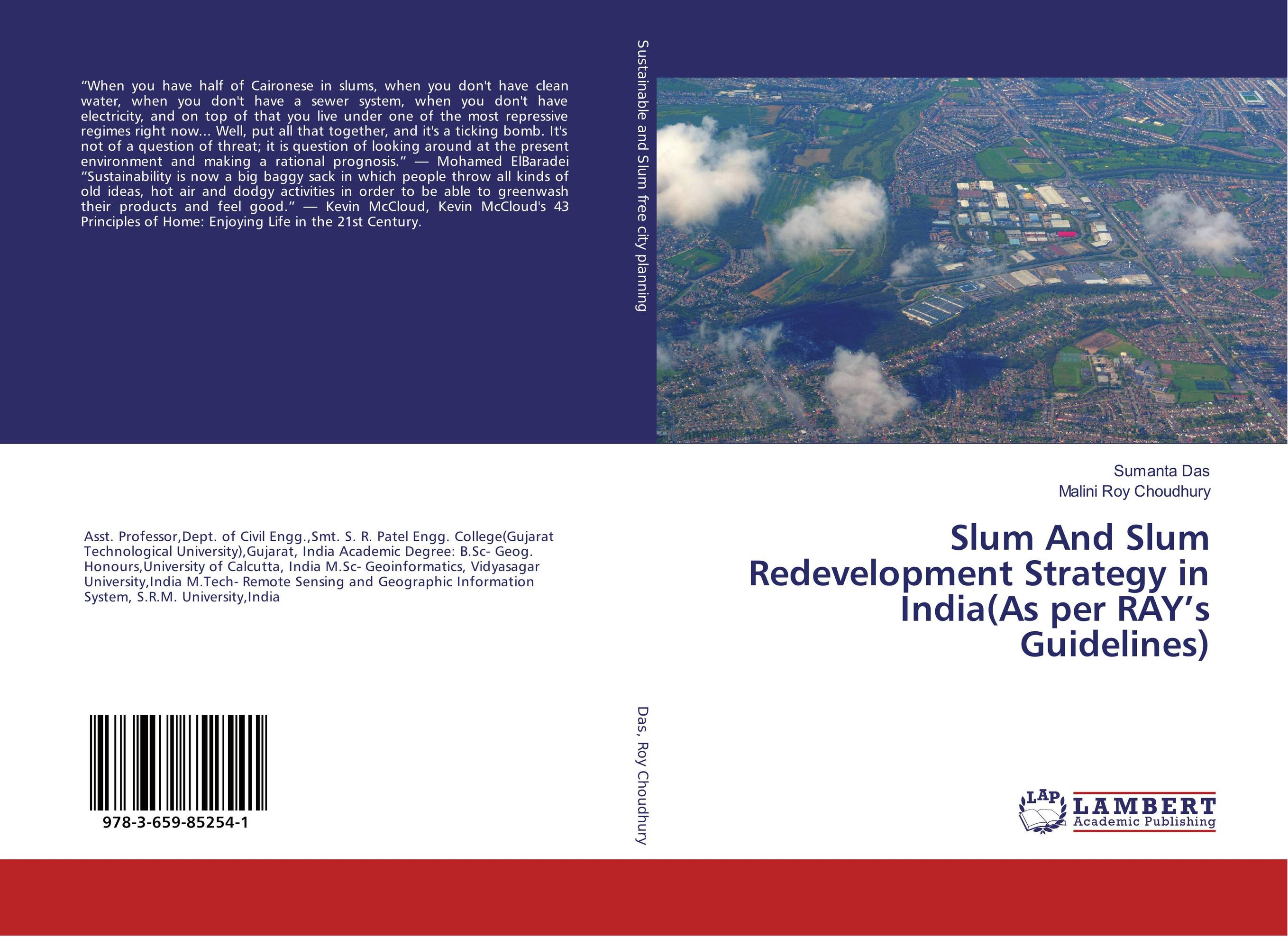 Slum And Slum Redevelopment Strategy in India(As per RAY's Guidelines) pastoralism and agriculture pennar basin india