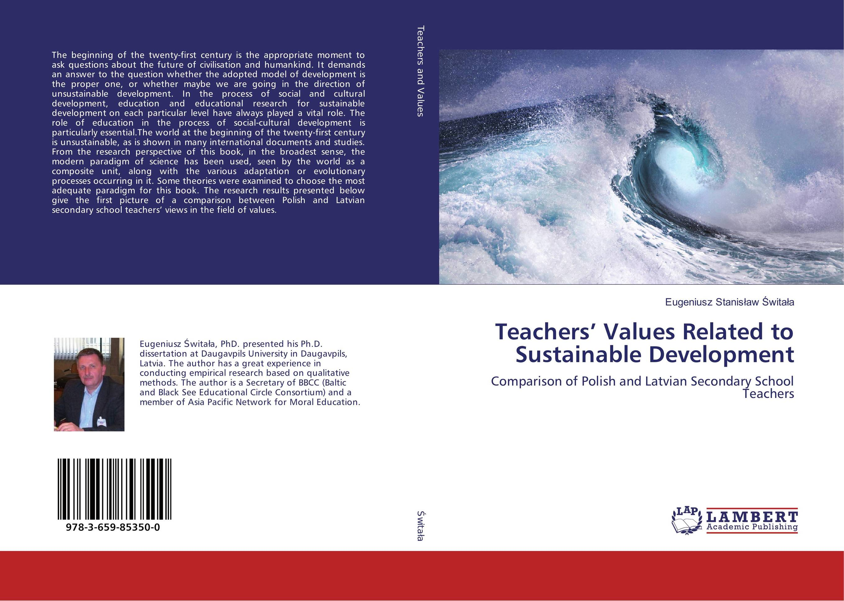 Teachers' Values Related to Sustainable Development clio in the italian garden – twenty–first century studies in historical methods and theoretical perspectives