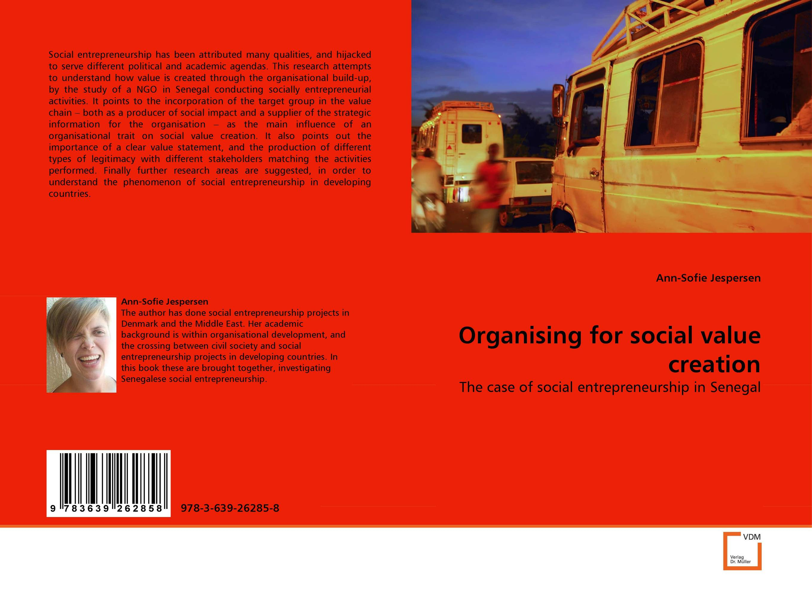 Organising for social value creation value chain