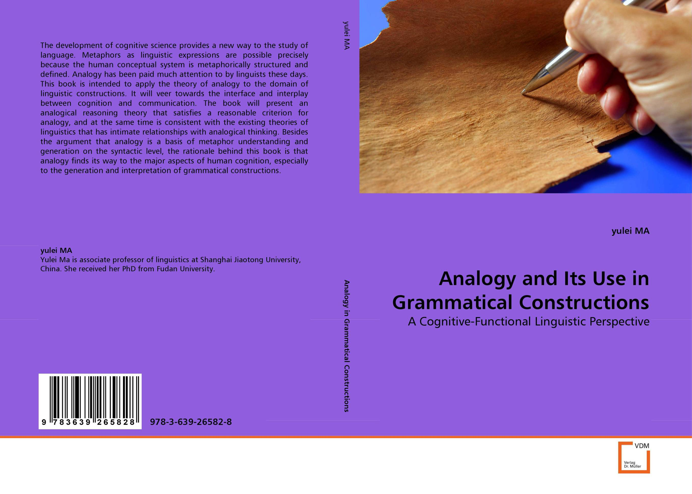 Analogy and Its Use in Grammatical Constructions nohrnberg analogy of the fairie queen paper