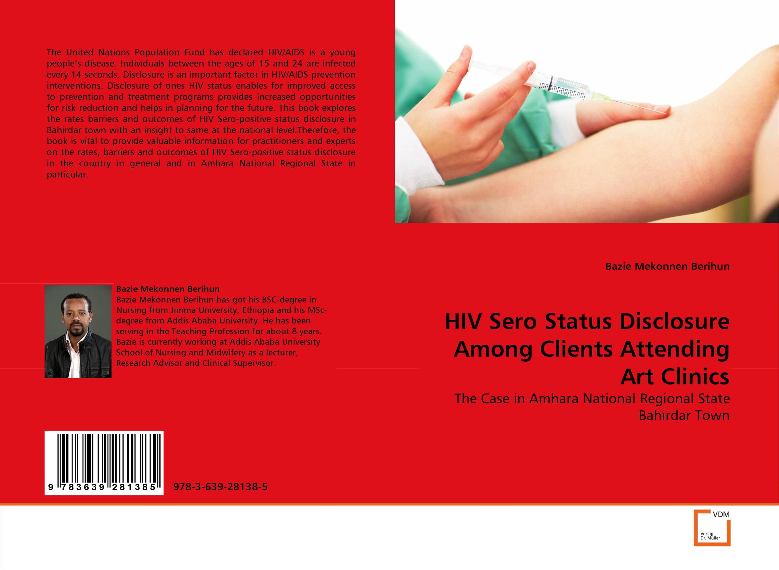 HIV Sero Status Disclosure Among Clients Attending Art Clinics nutritional status of hiv positive patients