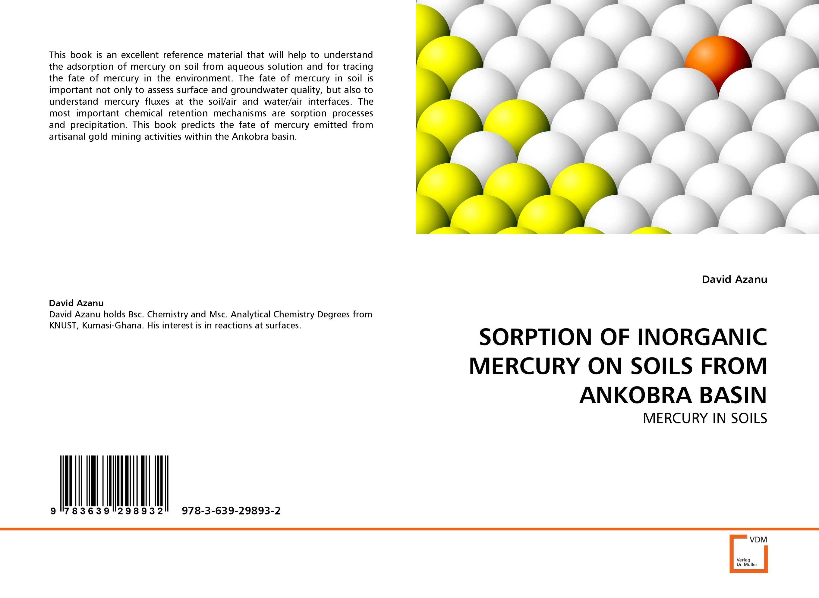 SORPTION OF INORGANIC MERCURY ON SOILS FROM ANKOBRA BASIN analysis fate and removal of pharmaceuticals in the water cycle 50