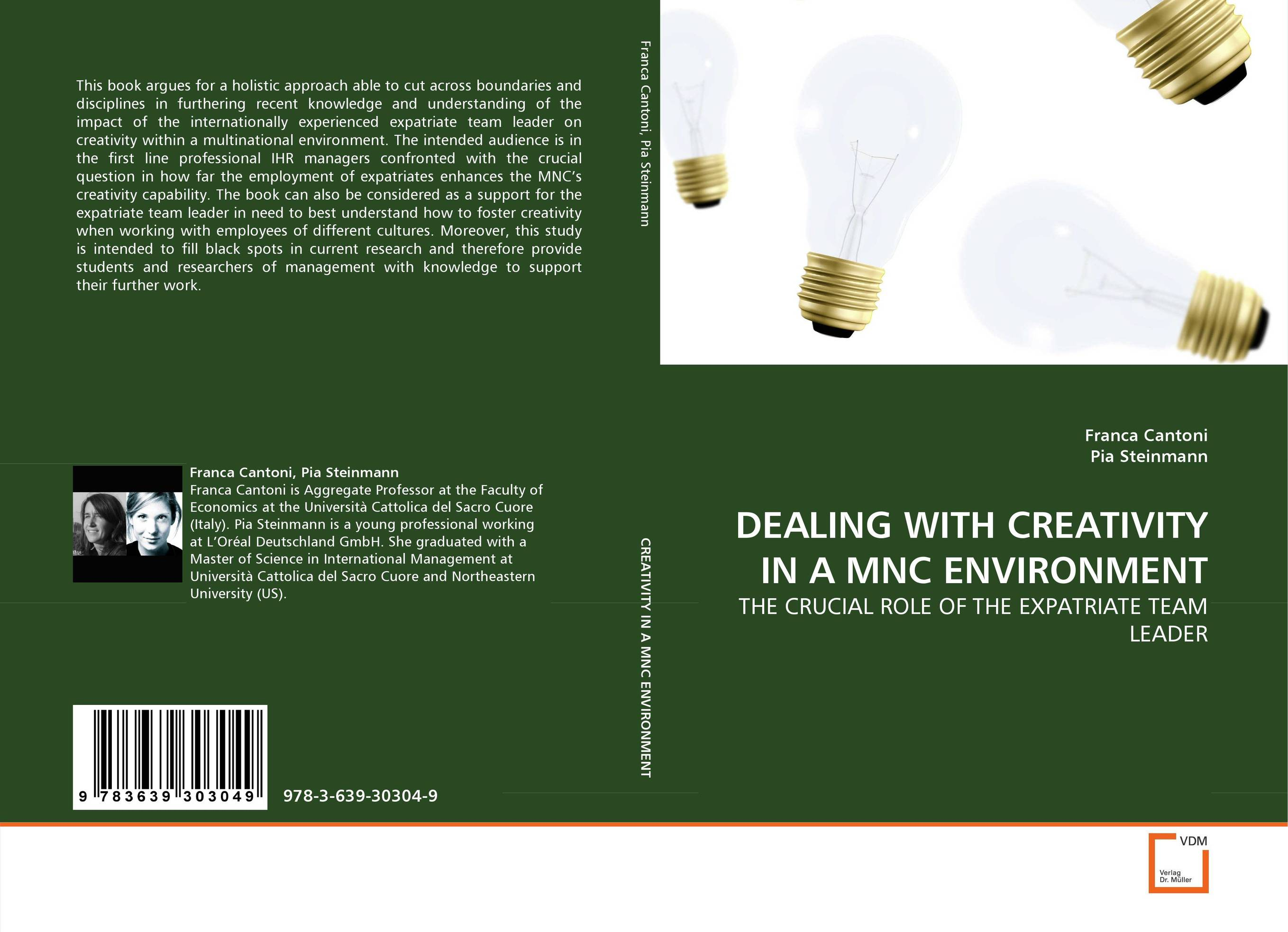 DEALING WITH CREATIVITY IN A MNC ENVIRONMENT