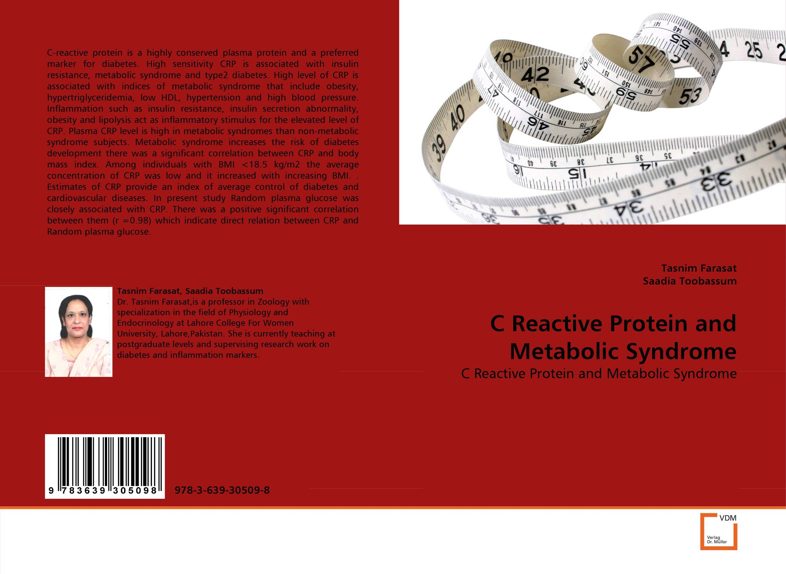 C Reactive Protein and Metabolic Syndrome metabolic benefits of diet and exercise on type 2 diabetes
