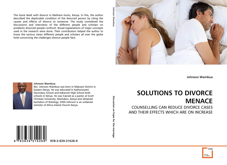 SOLUTIONS TO DIVORCE MENACE robert e kleeman the handbook for divorce valuations