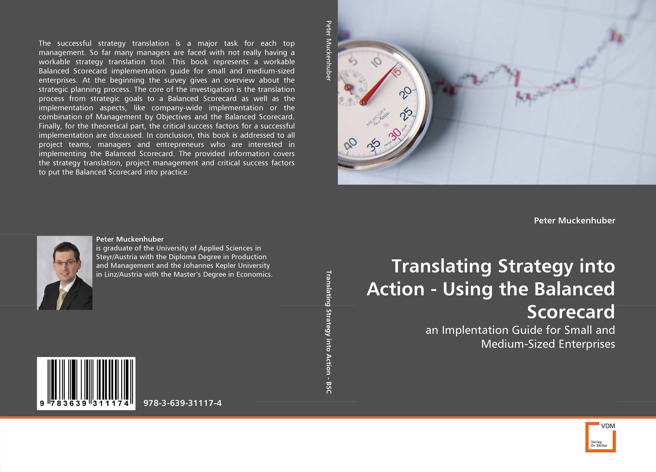 Translating Strategy into Action - Using the Balanced Scorecard mohan nair essentials of balanced scorecard