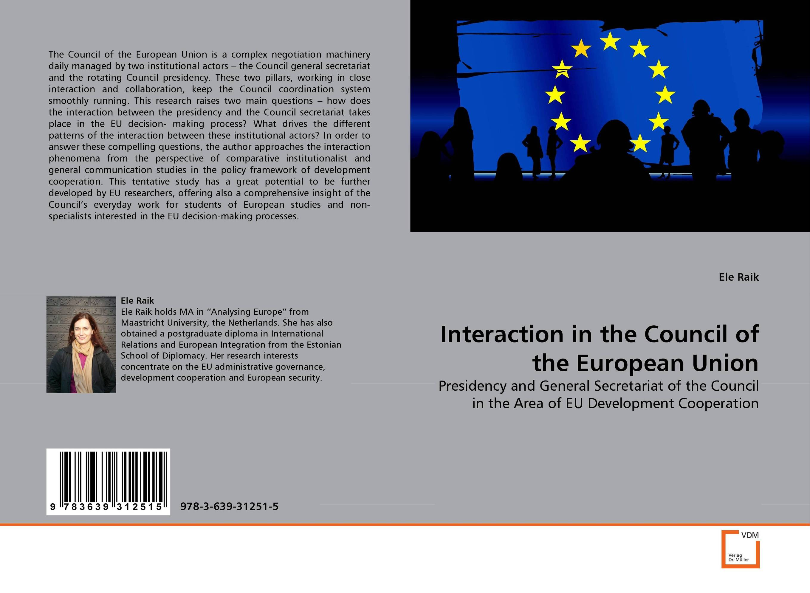 Interaction in the Council of the European Union iron council