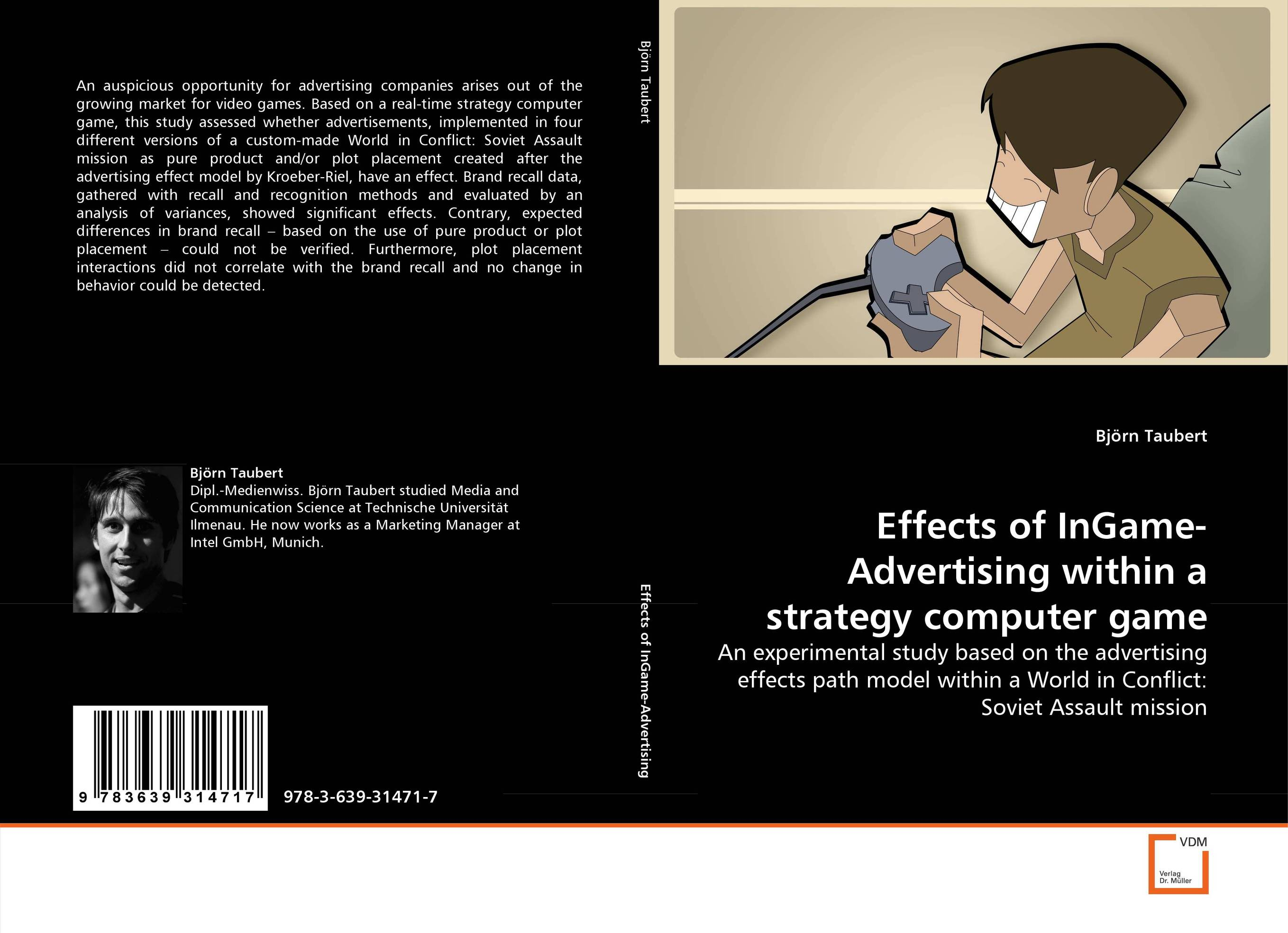 Effects of InGame-Advertising within a strategy computer game oksana zhuk advertising consumption and welfare effects of advertising