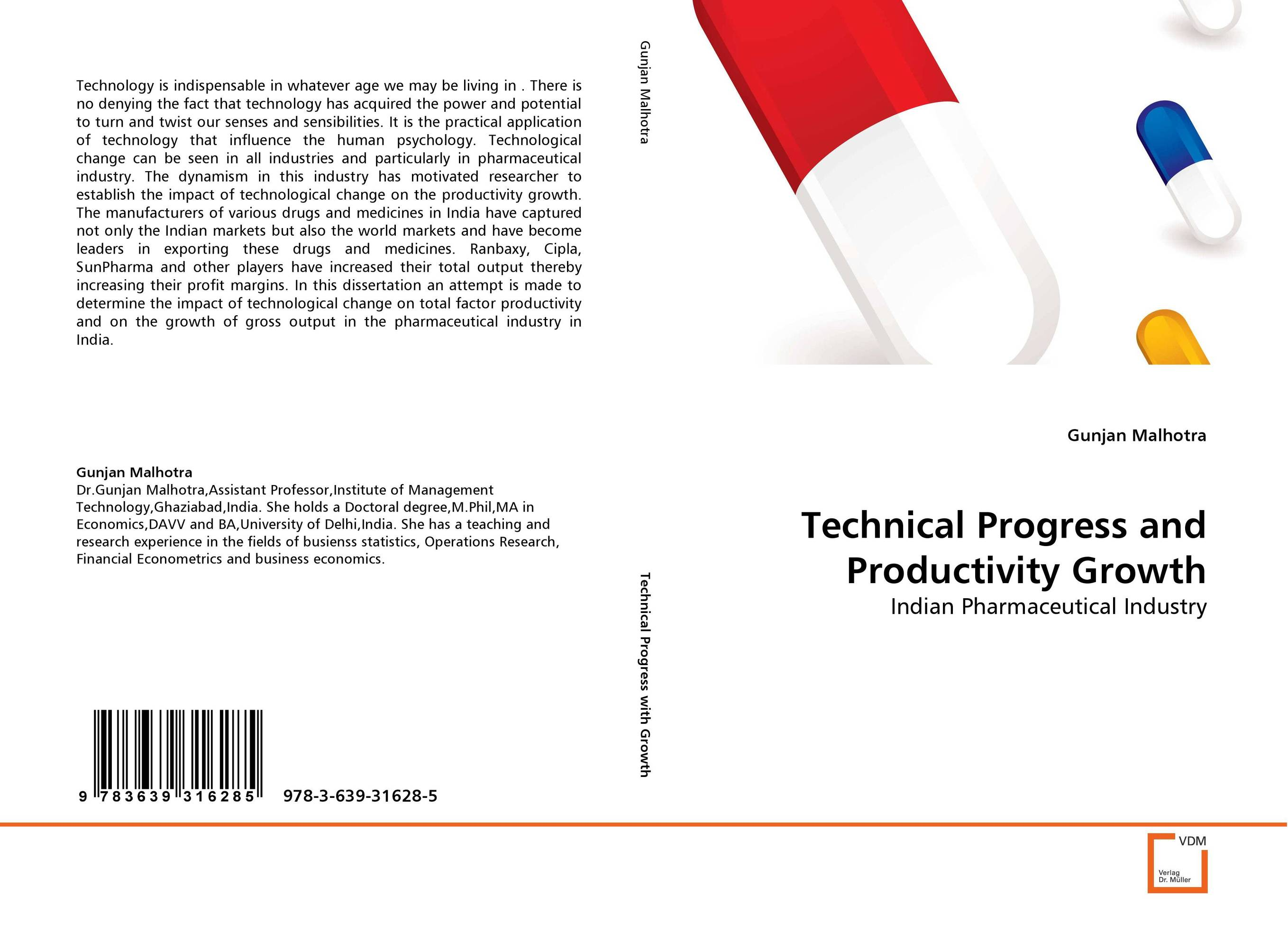 Technical Progress and Productivity Growth