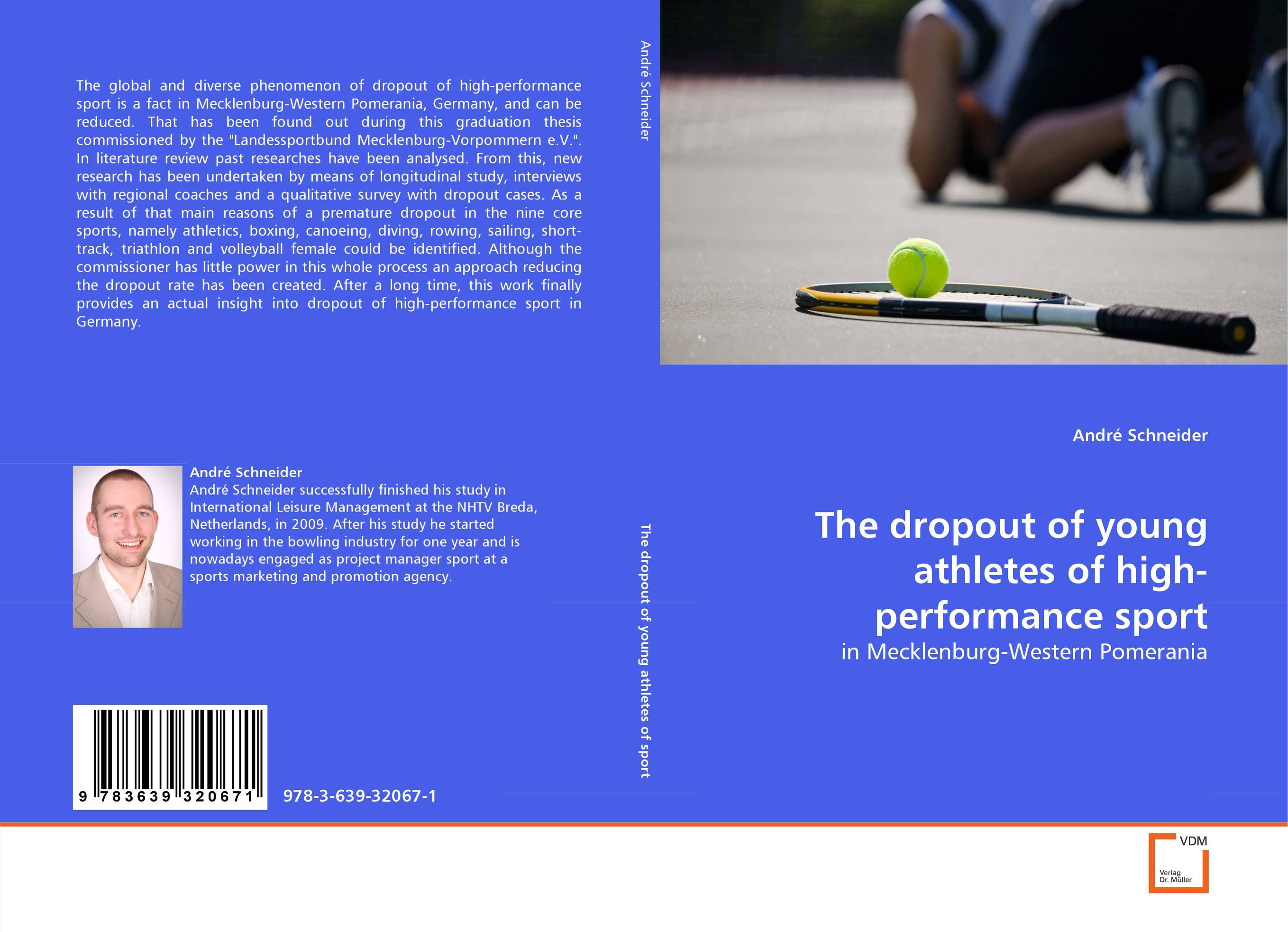 The dropout of young athletes of high-performance sport