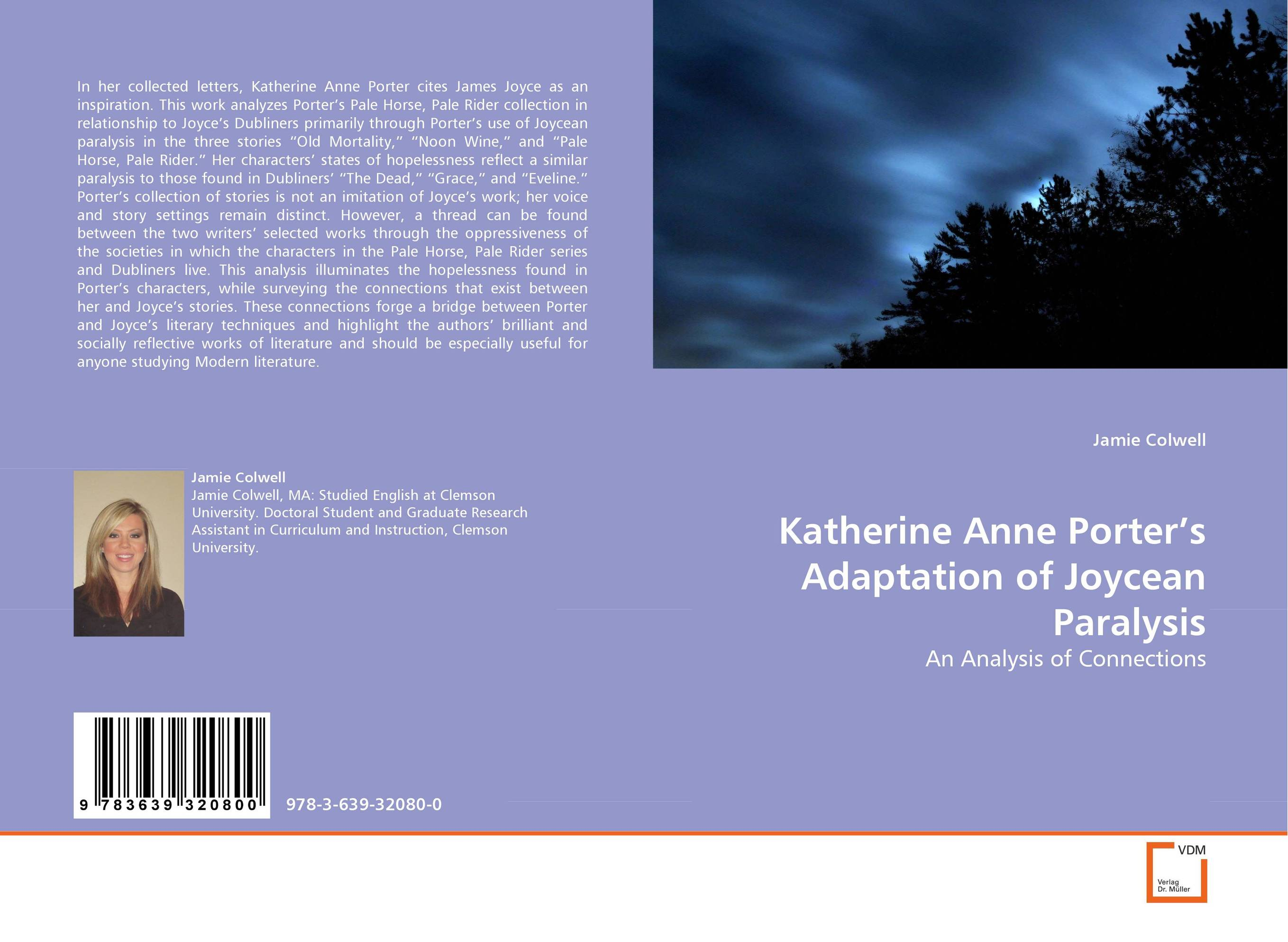 Katherine Anne Porter''s Adaptation of Joycean Paralysis found in brooklyn