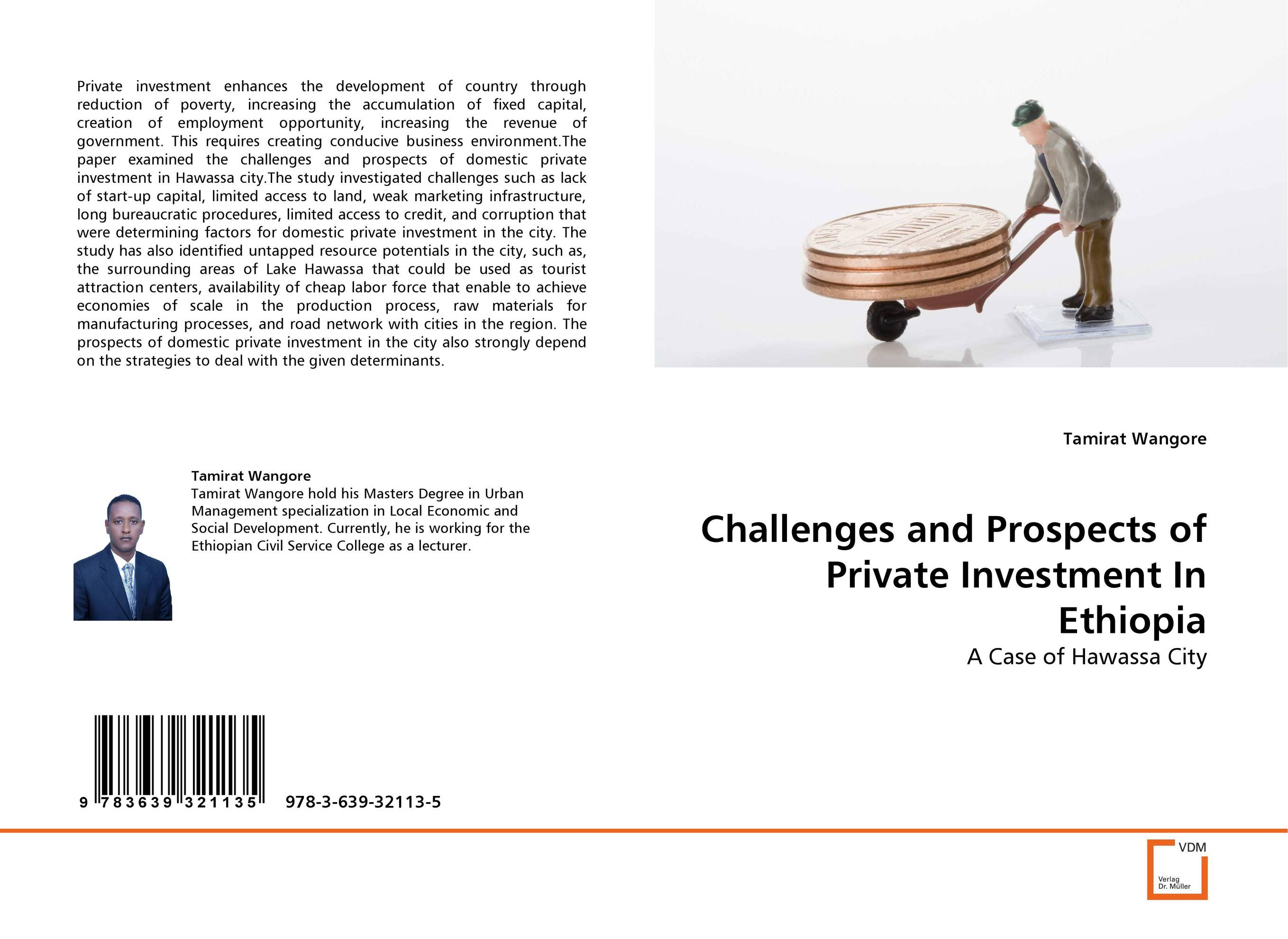 где купить Challenges and Prospects of Private Investment In Ethiopia по лучшей цене