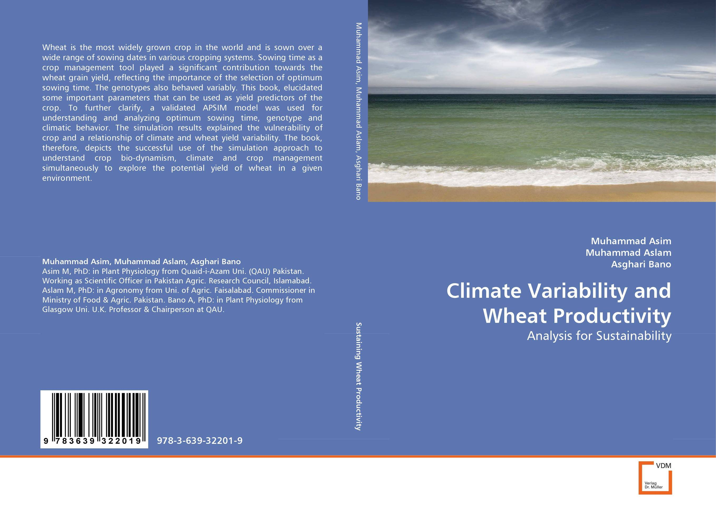 Climate Variability and Wheat Productivity