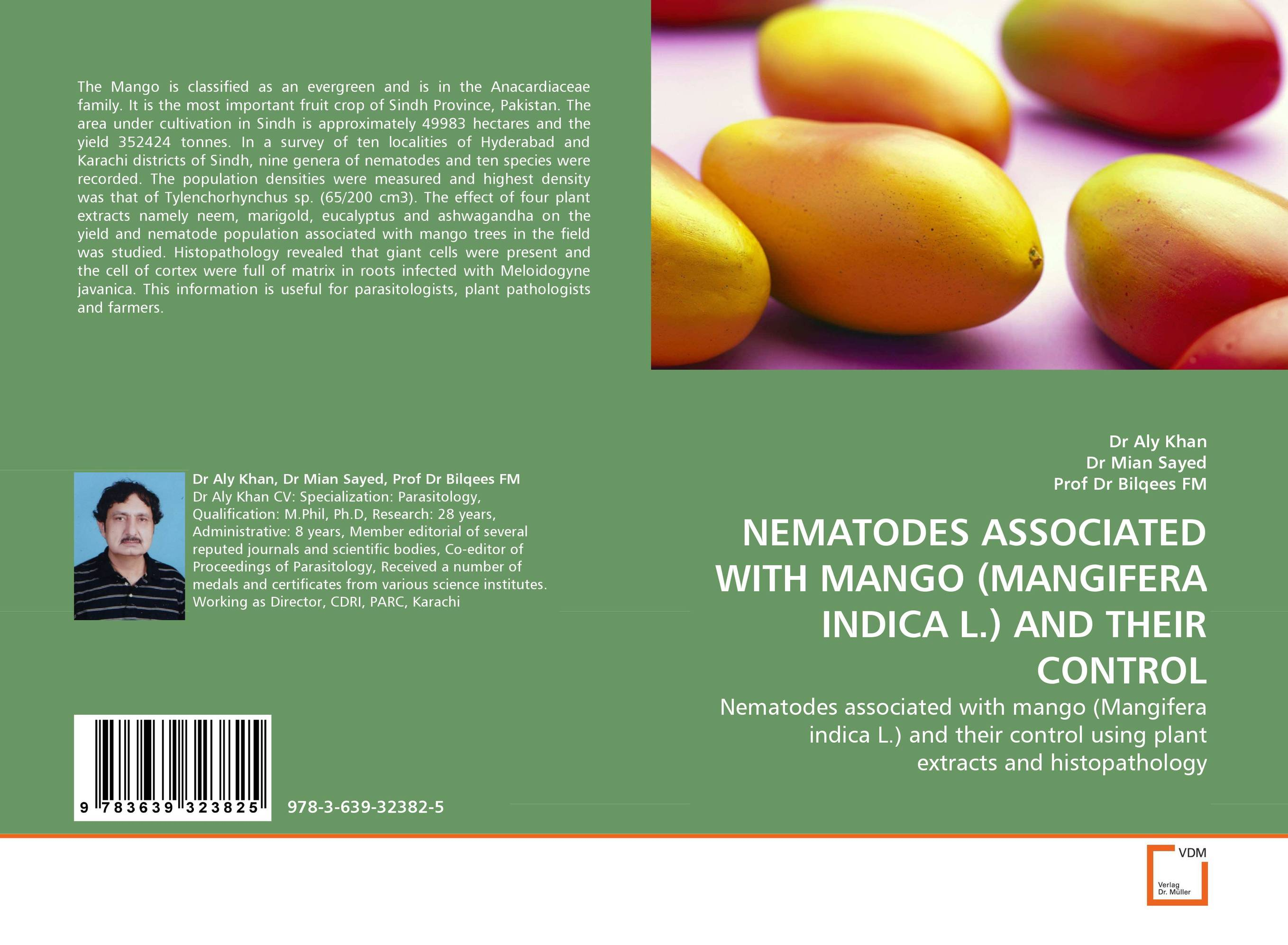 NEMATODES ASSOCIATED WITH MANGO (MANGIFERA INDICA L.) AND THEIR CONTROL functional capacity of mango leave extracts