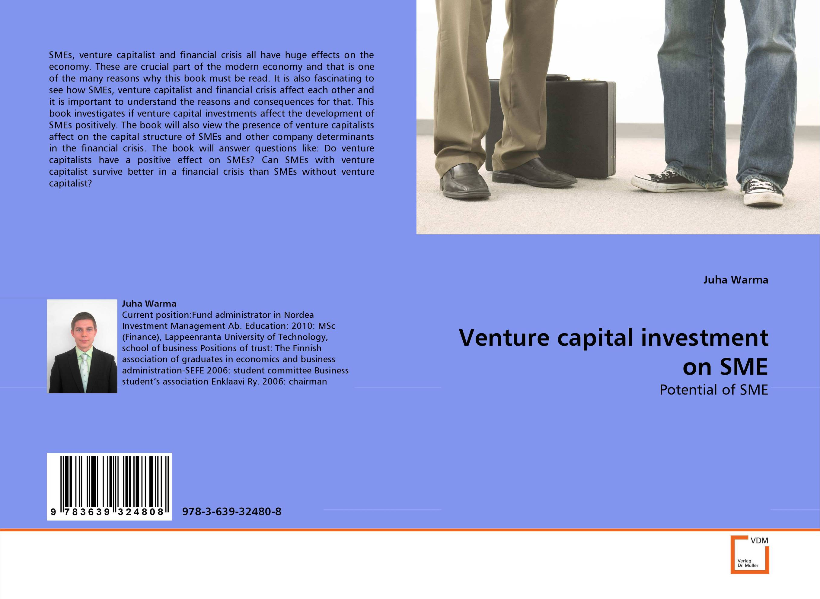 Venture capital investment on SME venture to the interior